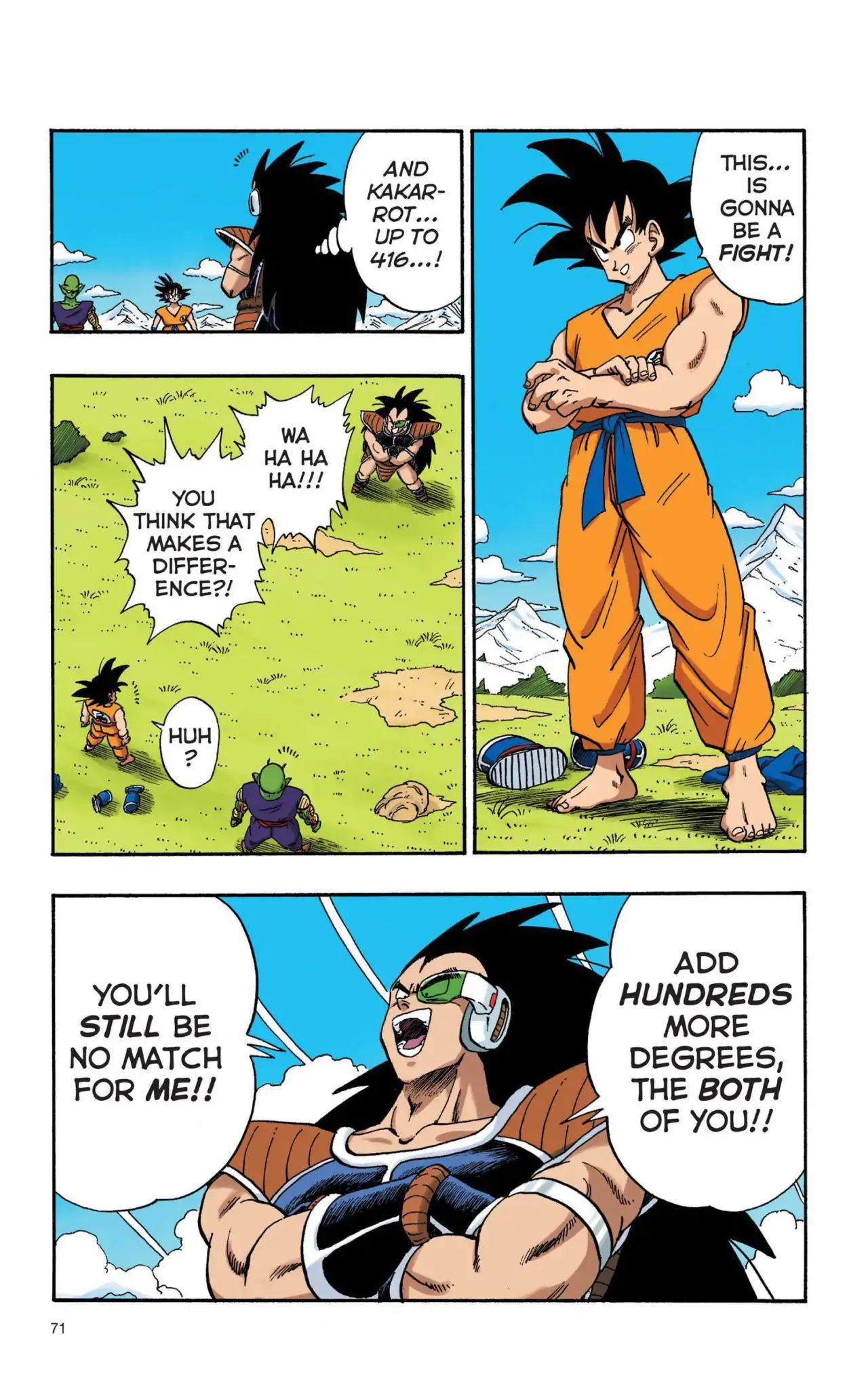 Dragon Ball Full Color Saiyan Arc Chapter 5  Online Free Manga Read Image 10