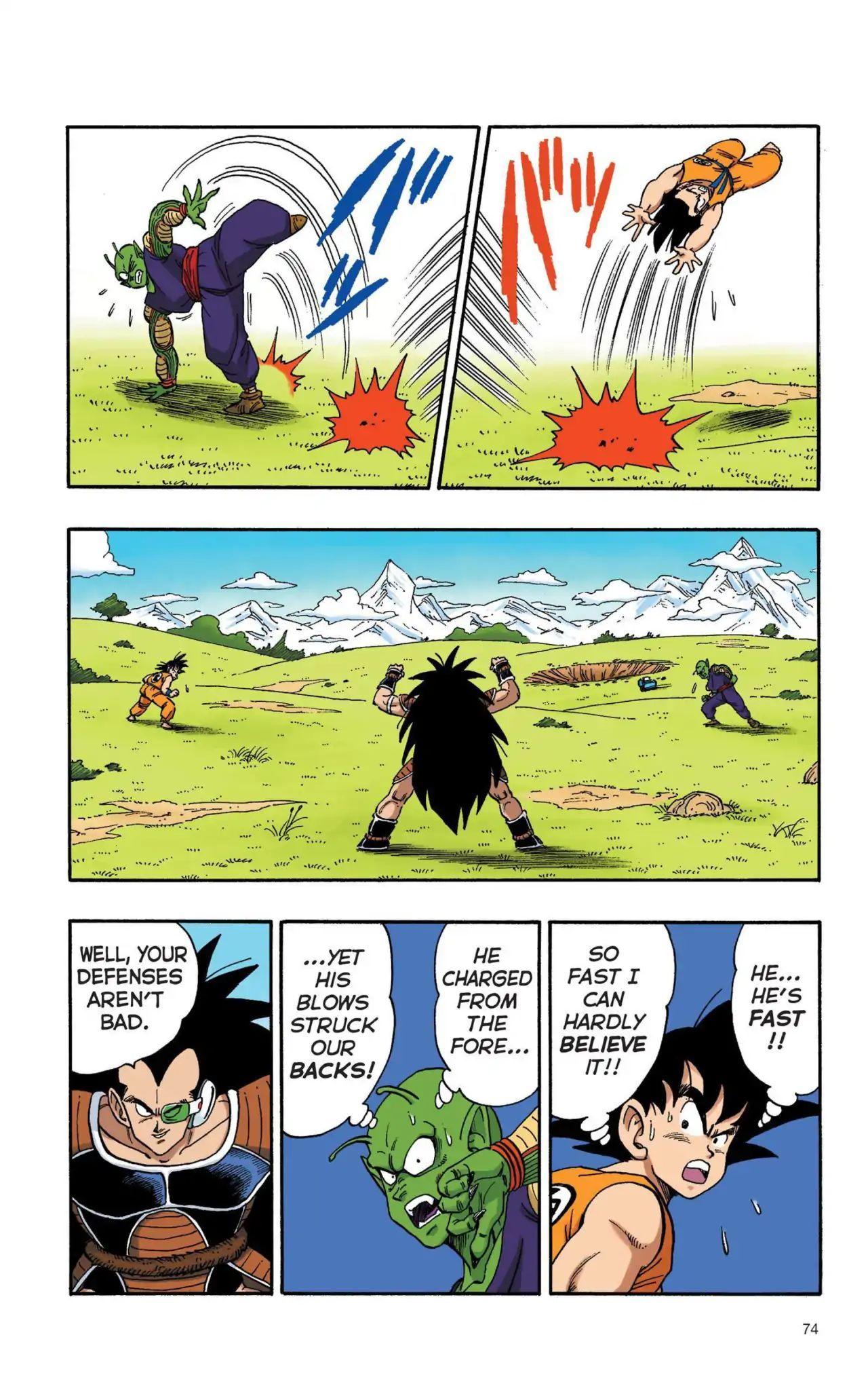Dragon Ball Full Color Saiyan Arc Chapter 5  Online Free Manga Read Image 13