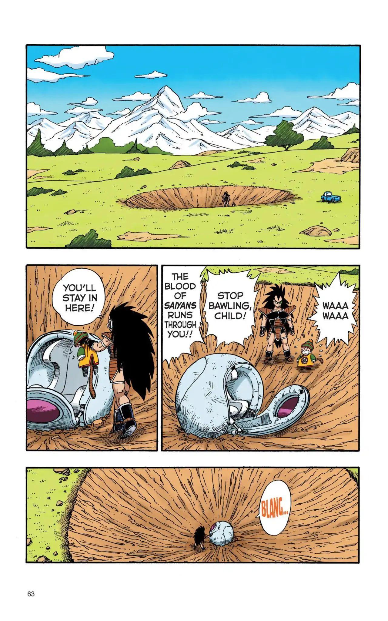 Dragon Ball Full Color Saiyan Arc Chapter 5  Online Free Manga Read Image 2