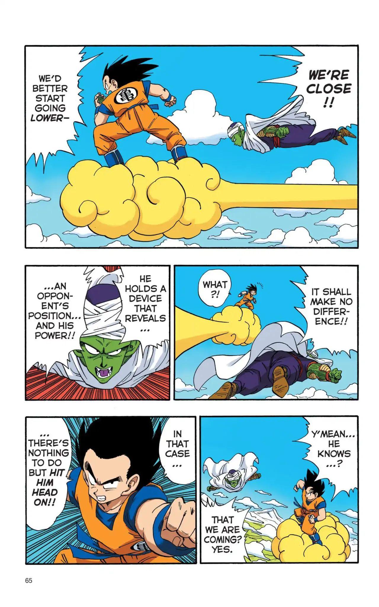 Dragon Ball Full Color Saiyan Arc Chapter 5  Online Free Manga Read Image 4