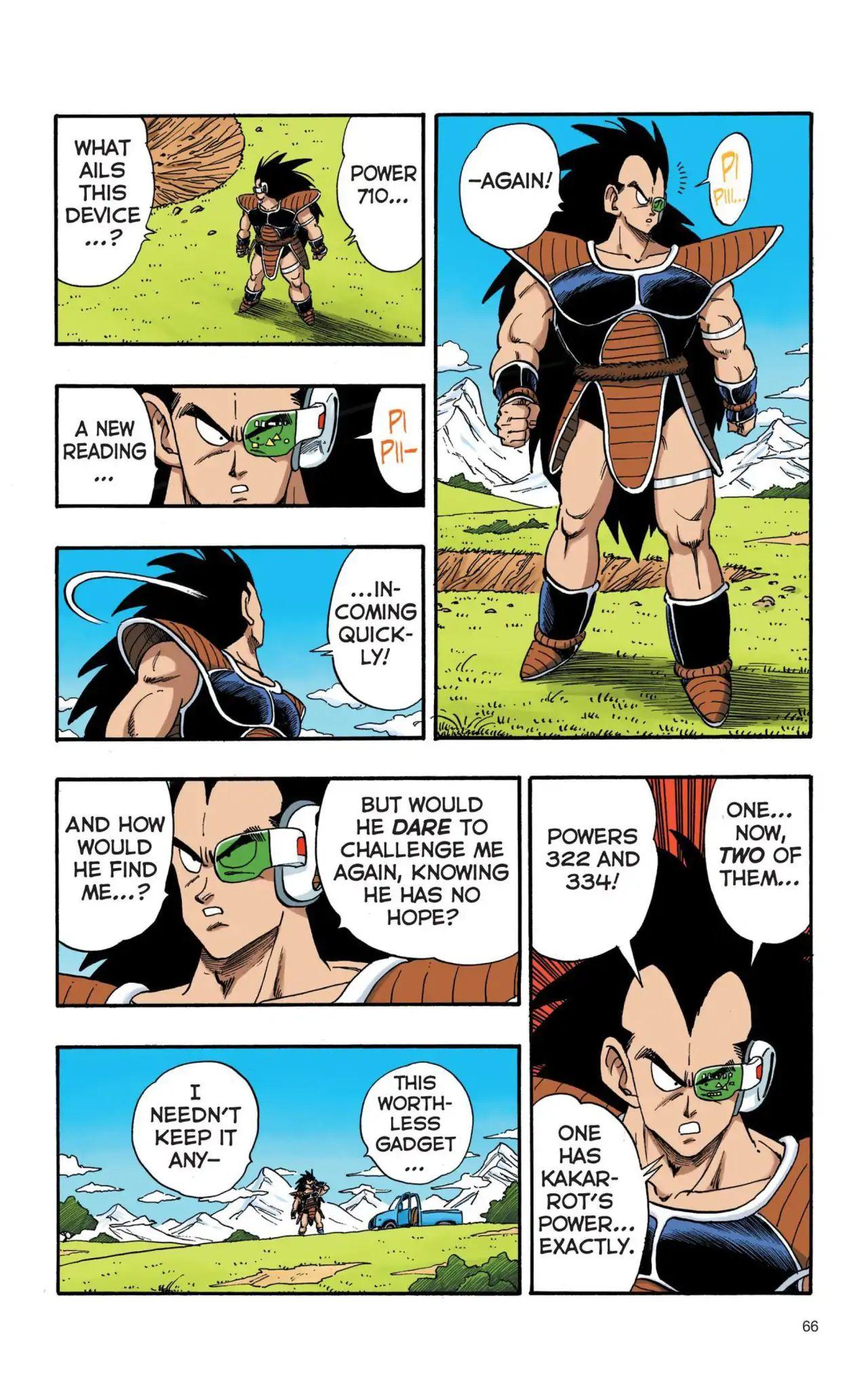 Dragon Ball Full Color Saiyan Arc Chapter 5  Online Free Manga Read Image 5