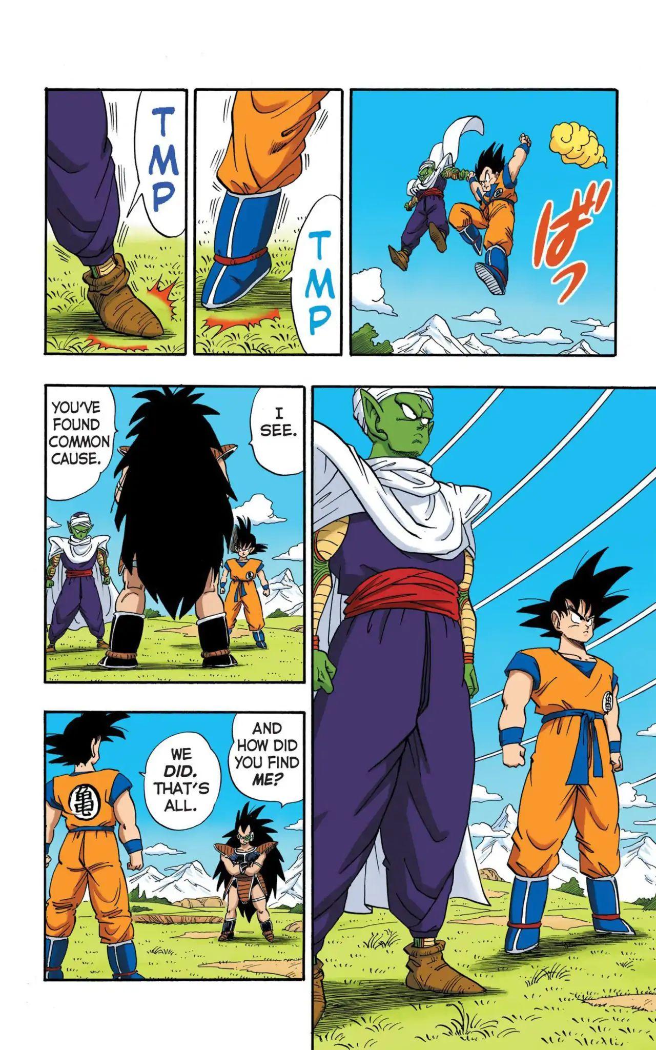 Dragon Ball Full Color Saiyan Arc Chapter 5  Online Free Manga Read Image 7
