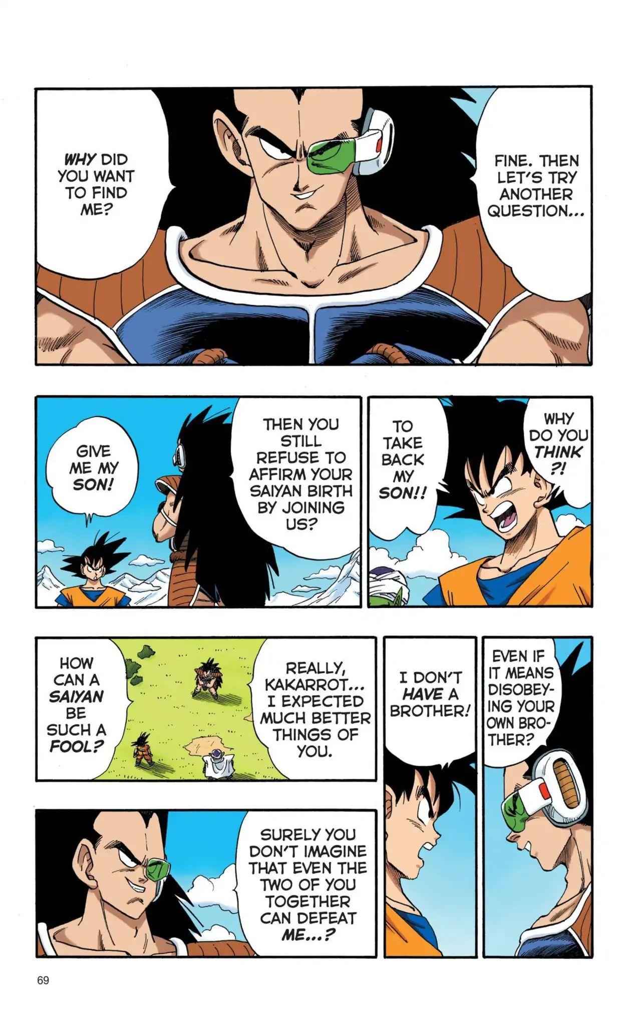Dragon Ball Full Color Saiyan Arc Chapter 5  Online Free Manga Read Image 8