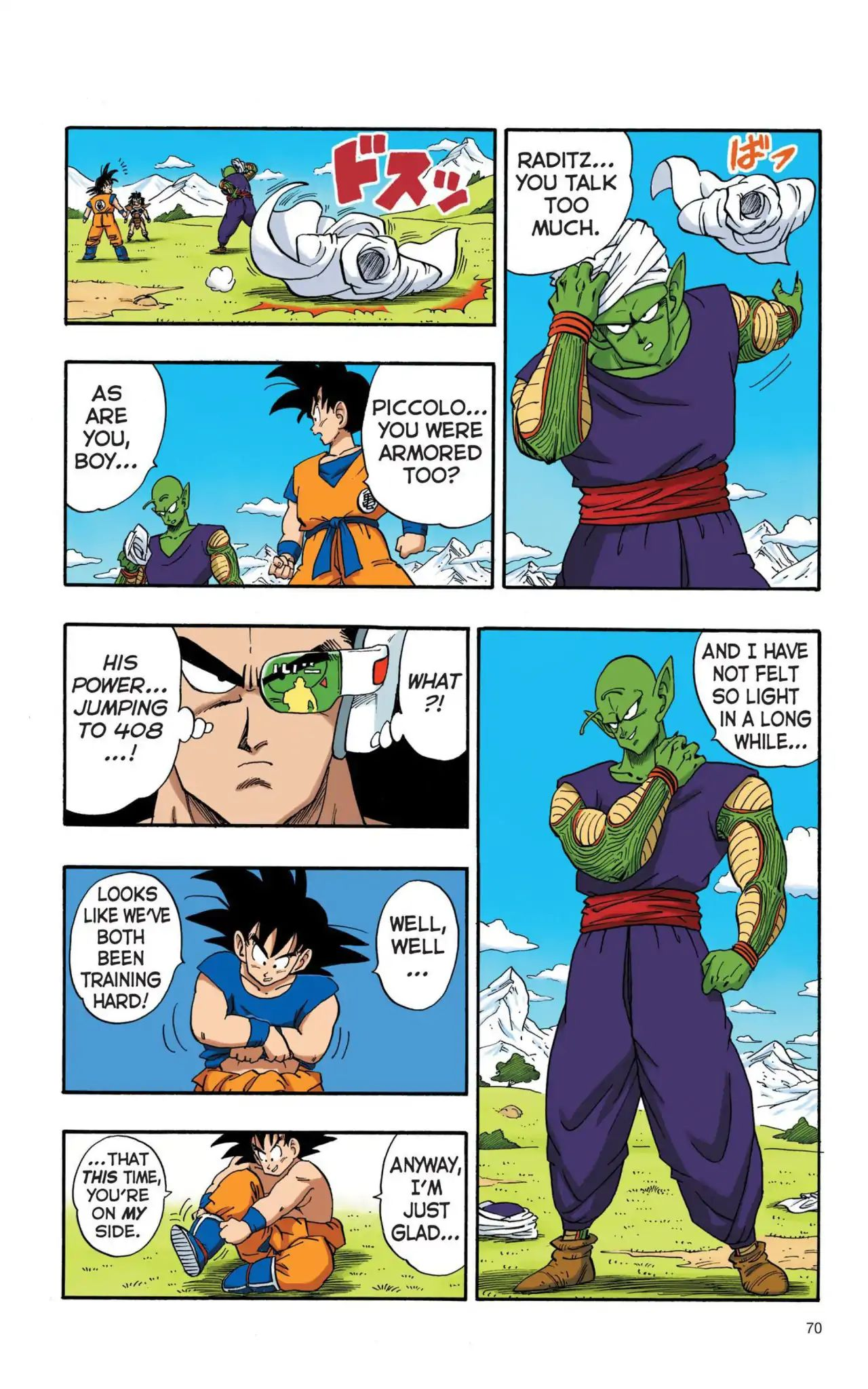 Dragon Ball Full Color Saiyan Arc Chapter 5  Online Free Manga Read Image 9