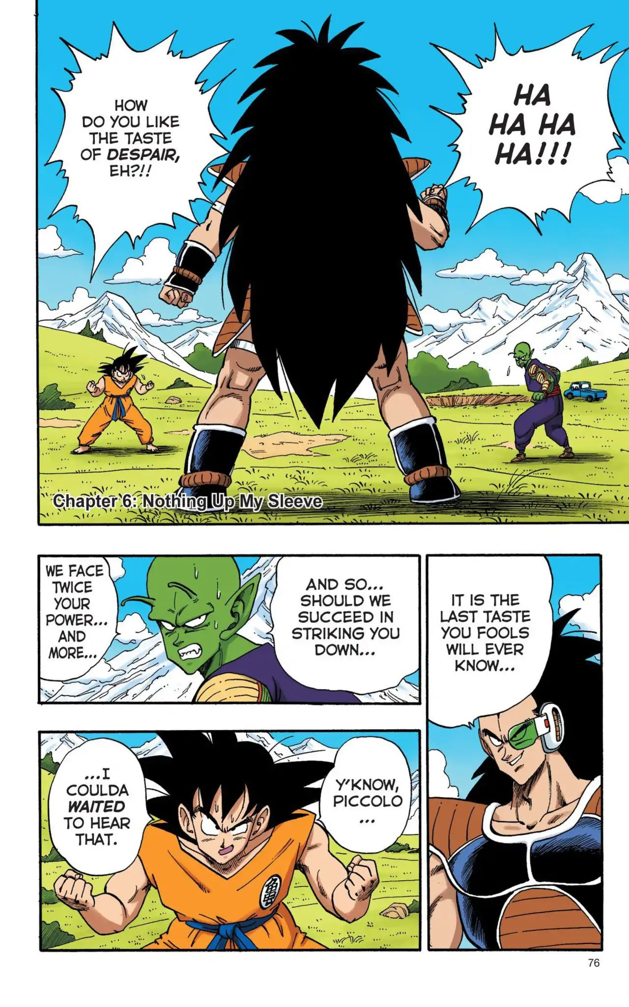Dragon Ball Full Color Saiyan Arc Chapter 6  Online Free Manga Read Image 1