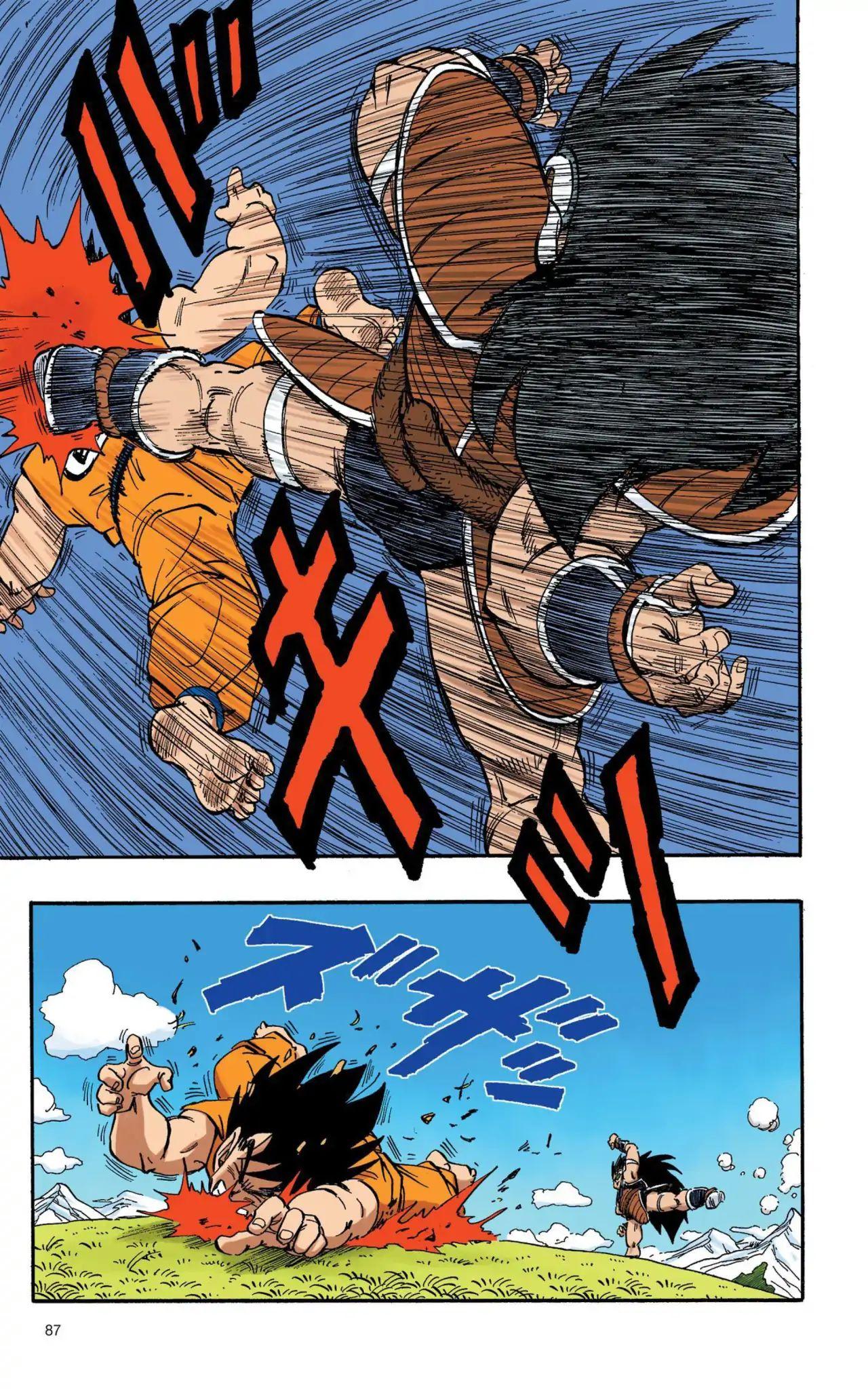 Dragon Ball Full Color Saiyan Arc Chapter 6  Online Free Manga Read Image 12