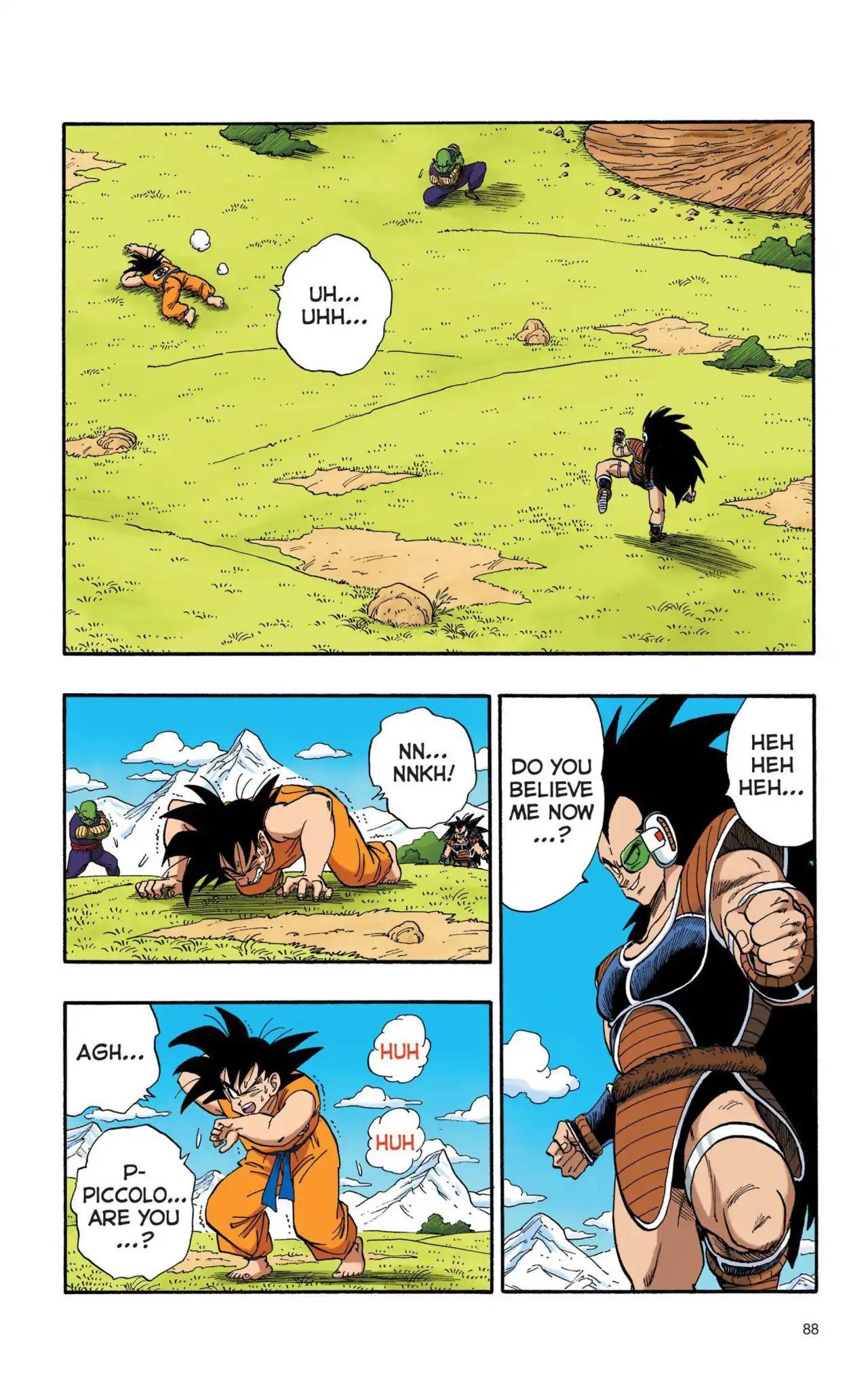 Dragon Ball Full Color Saiyan Arc Chapter 6  Online Free Manga Read Image 13