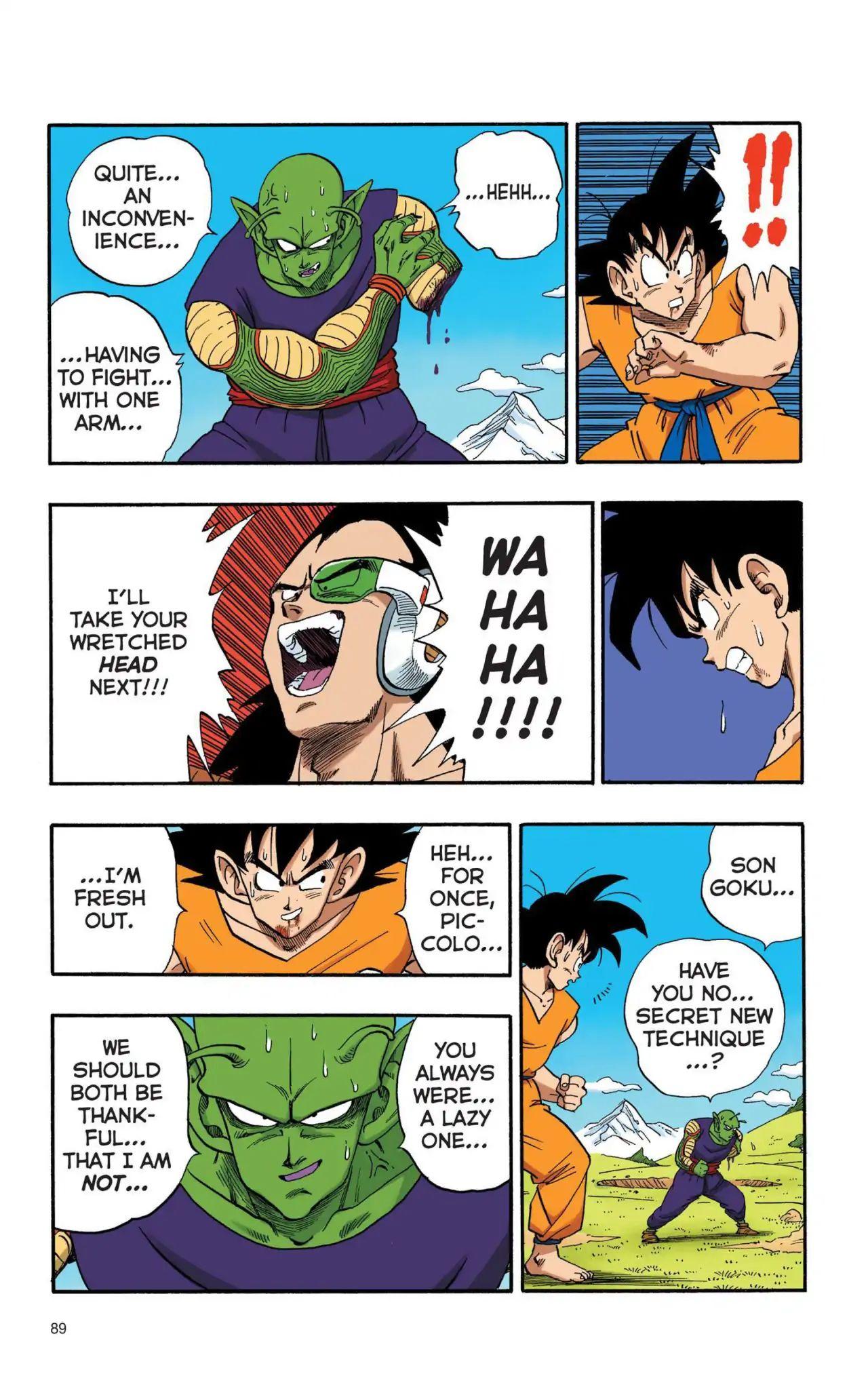 Dragon Ball Full Color Saiyan Arc Chapter 6  Online Free Manga Read Image 14
