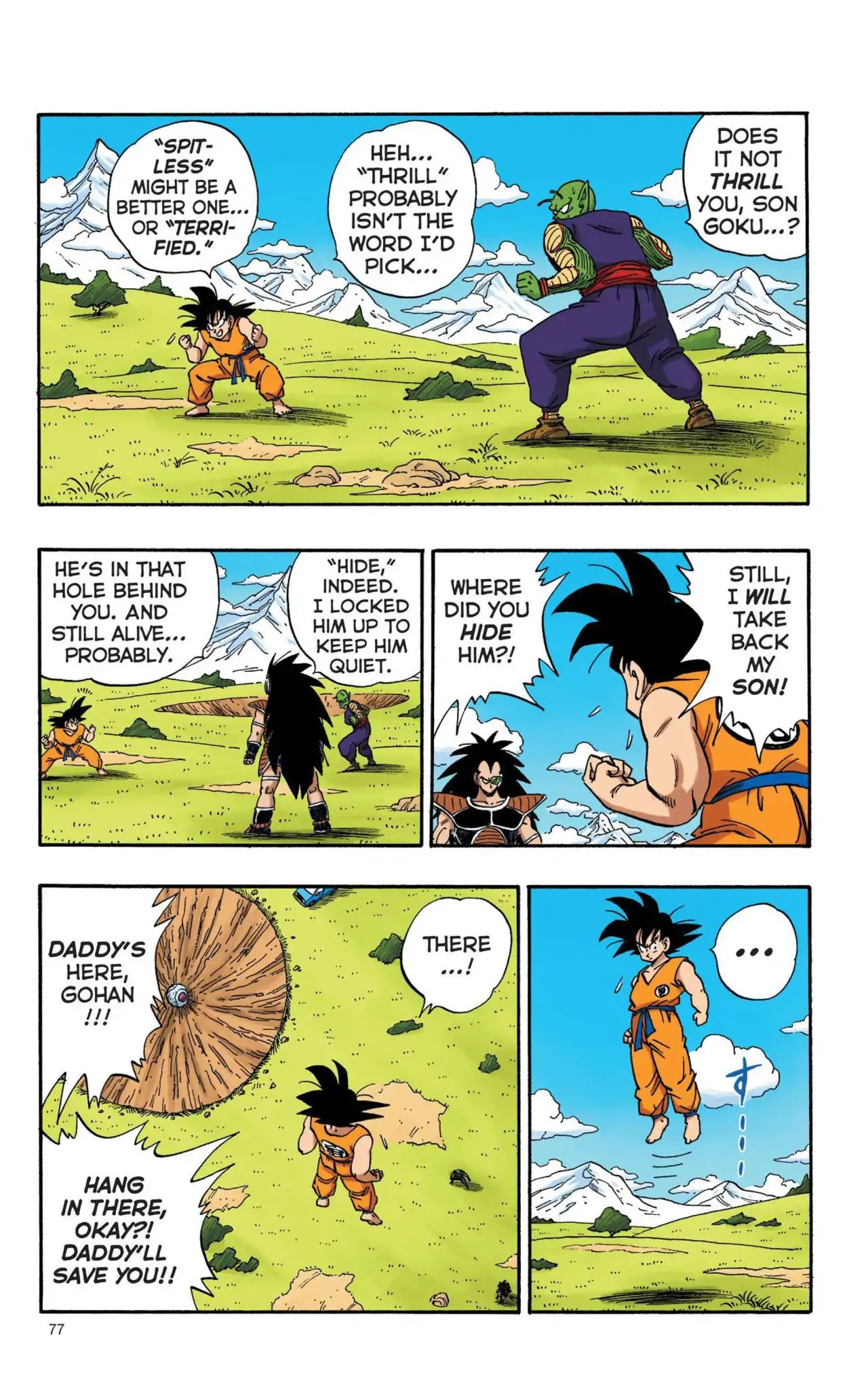 Dragon Ball Full Color Saiyan Arc Chapter 6  Online Free Manga Read Image 2