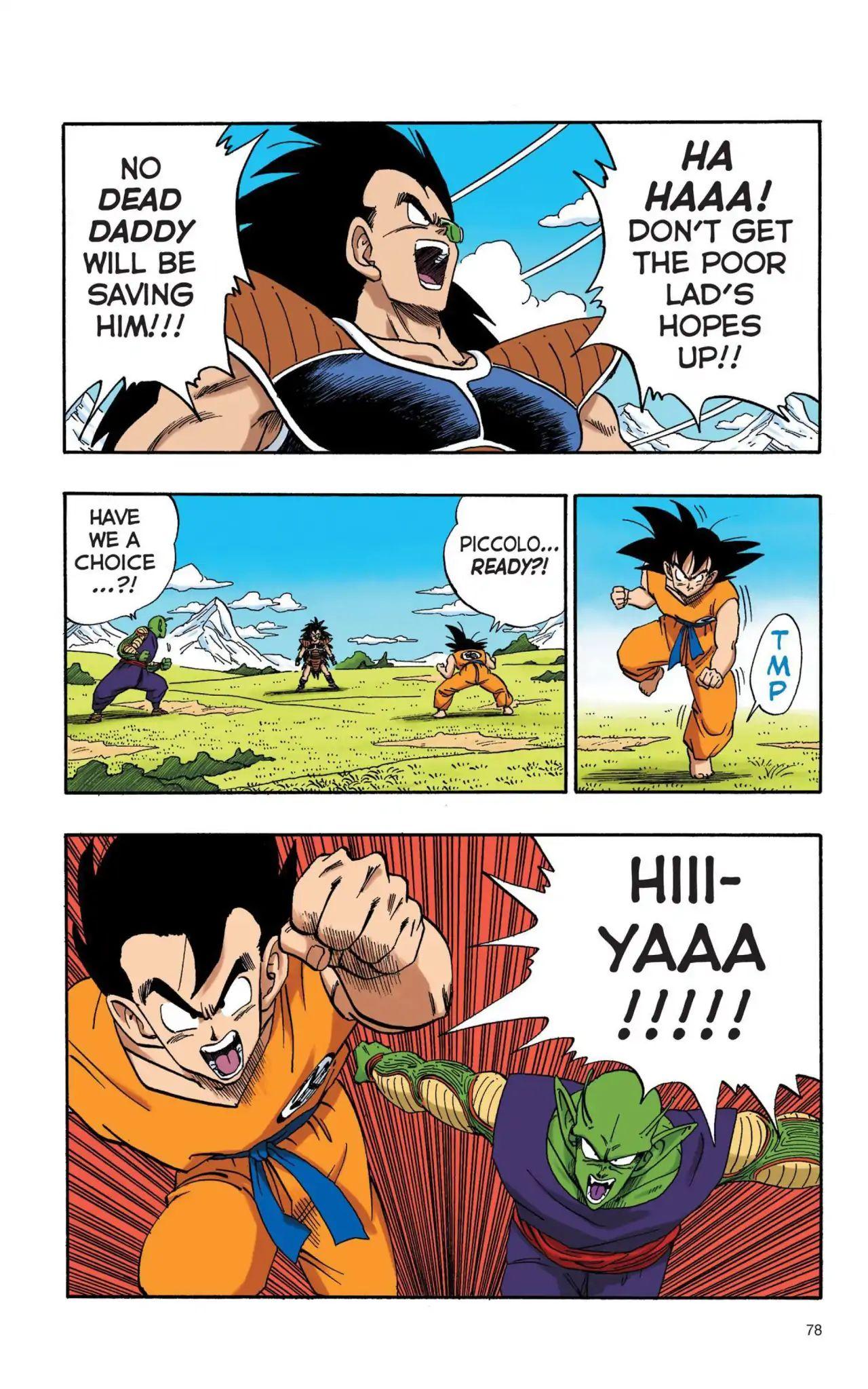 Dragon Ball Full Color Saiyan Arc Chapter 6  Online Free Manga Read Image 3