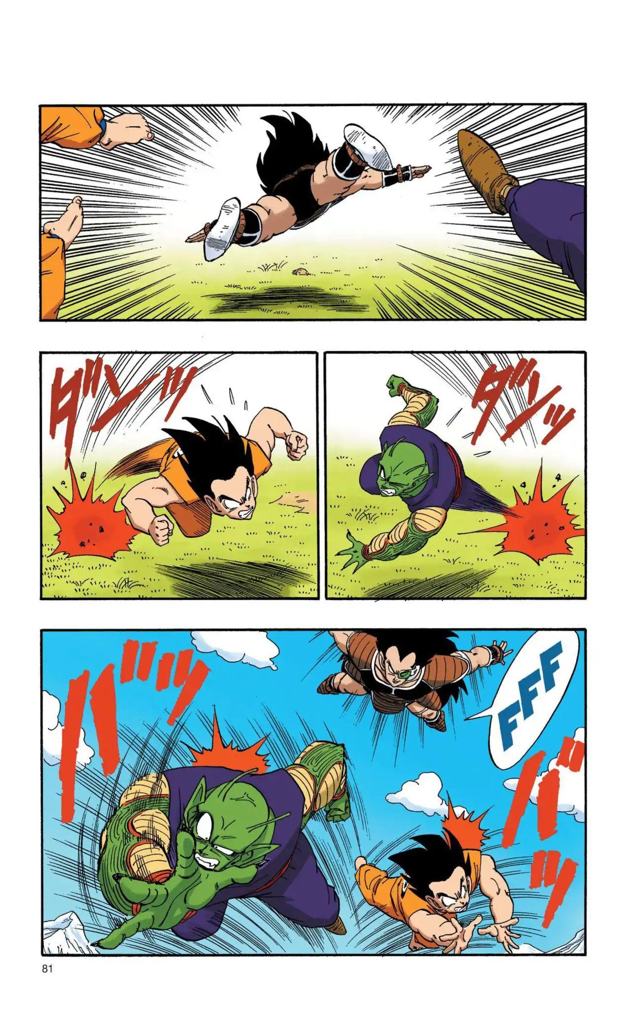 Dragon Ball Full Color Saiyan Arc Chapter 6  Online Free Manga Read Image 6