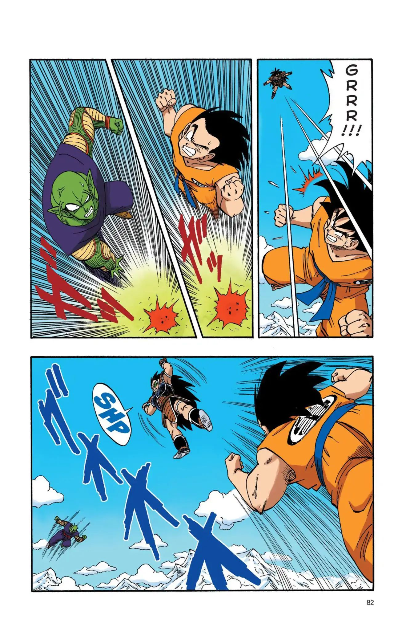Dragon Ball Full Color Saiyan Arc Chapter 6  Online Free Manga Read Image 7