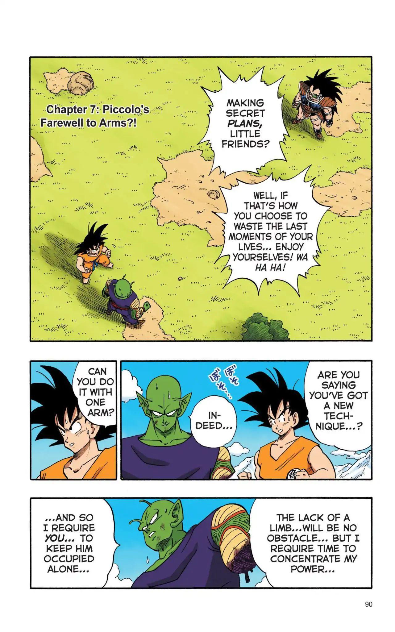 Dragon Ball Full Color Saiyan Arc Chapter 7  Online Free Manga Read Image 1