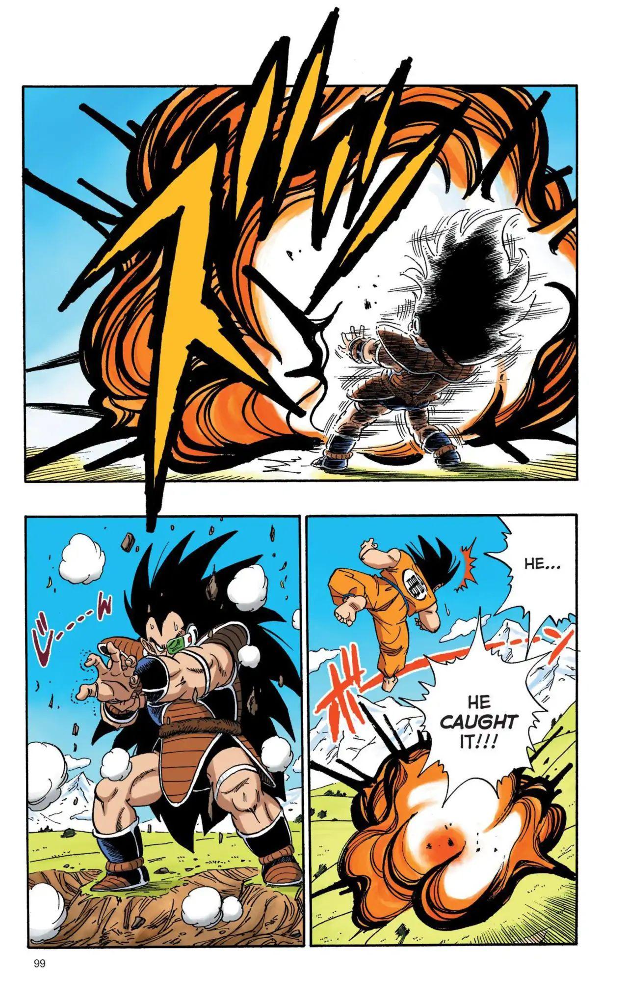Dragon Ball Full Color Saiyan Arc Chapter 7  Online Free Manga Read Image 10