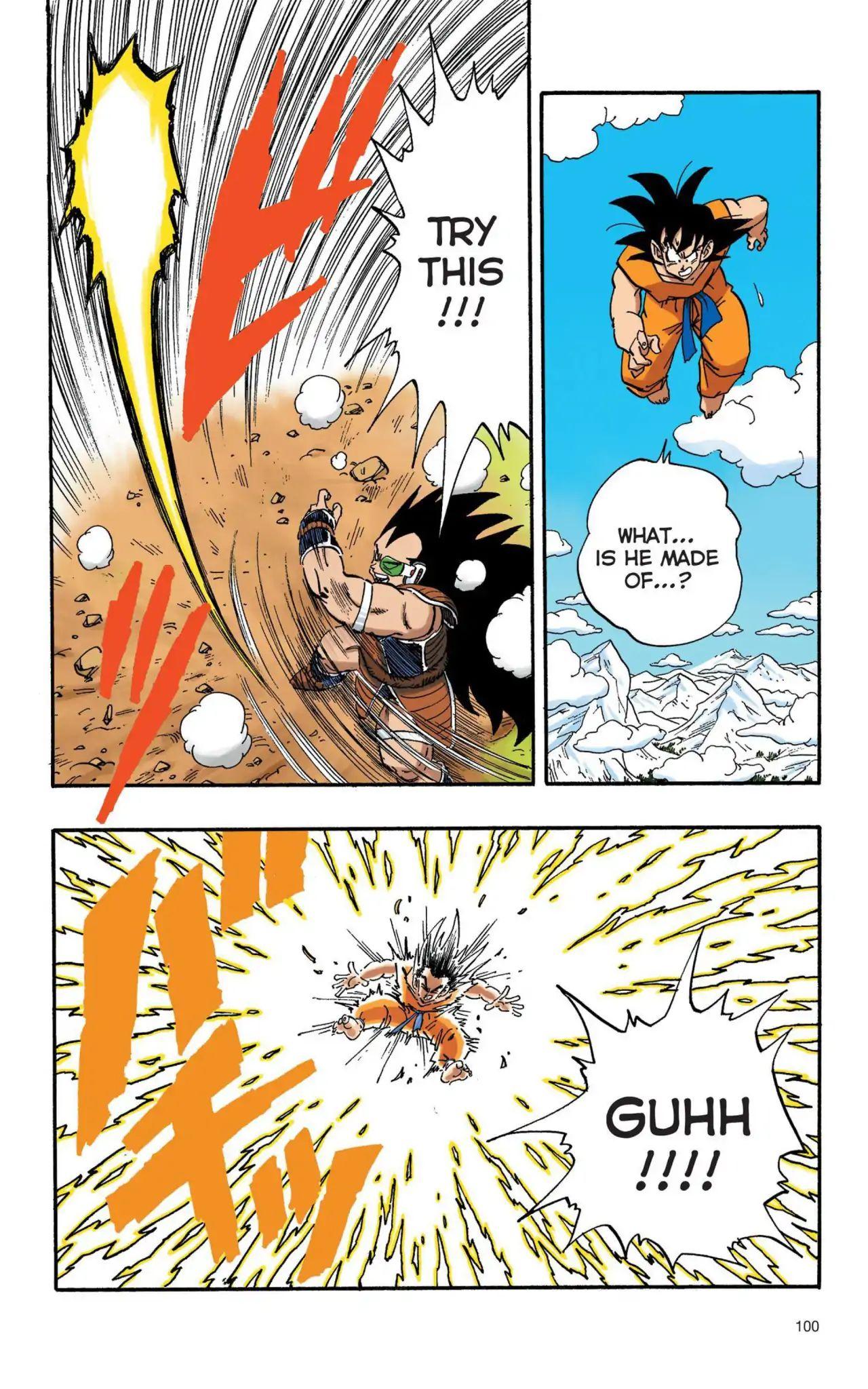 Dragon Ball Full Color Saiyan Arc Chapter 7  Online Free Manga Read Image 11
