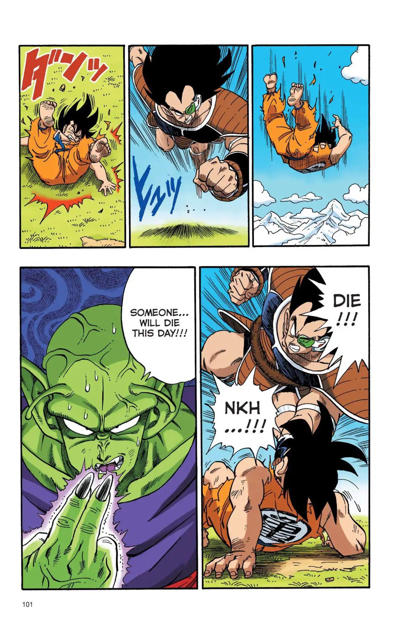 Dragon Ball Full Color Saiyan Arc Chapter 7  Online Free Manga Read Image 12