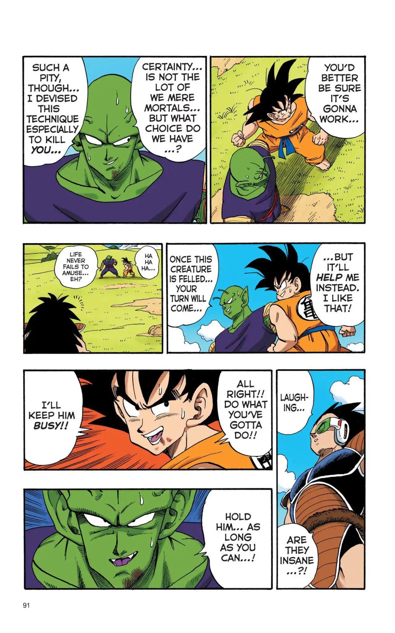 Dragon Ball Full Color Saiyan Arc Chapter 7  Online Free Manga Read Image 2