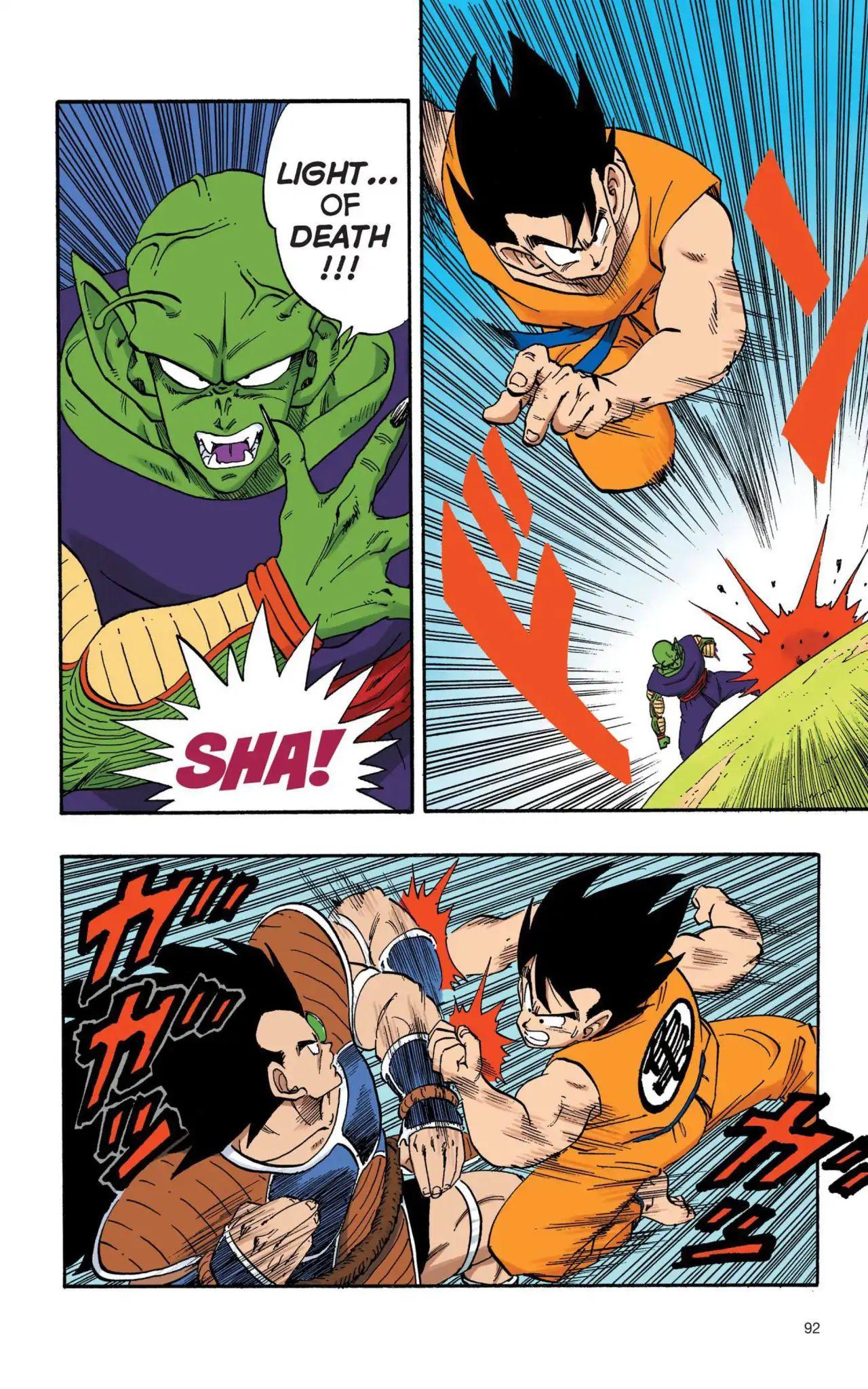 Dragon Ball Full Color Saiyan Arc Chapter 7  Online Free Manga Read Image 3