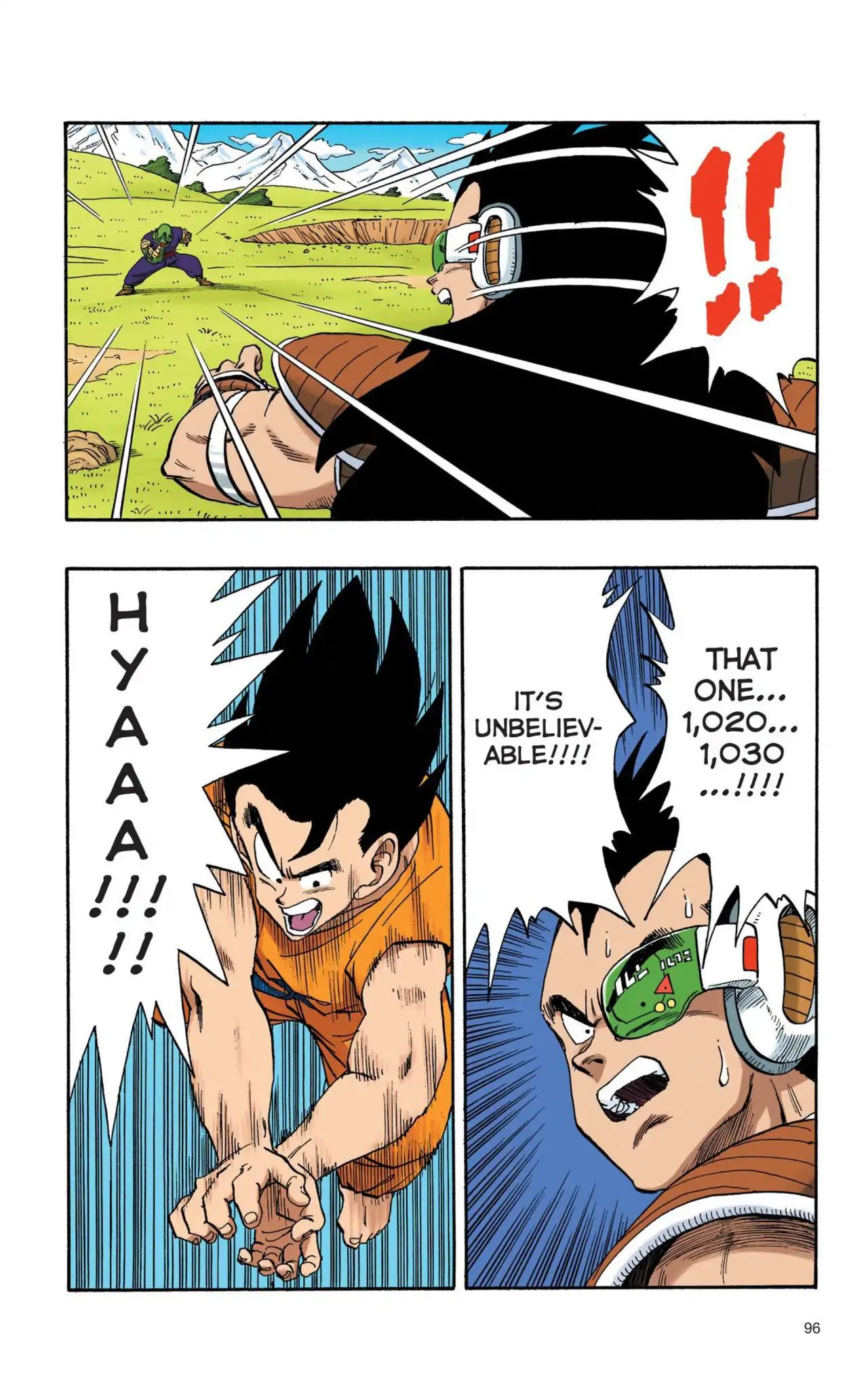 Dragon Ball Full Color Saiyan Arc Chapter 7  Online Free Manga Read Image 7