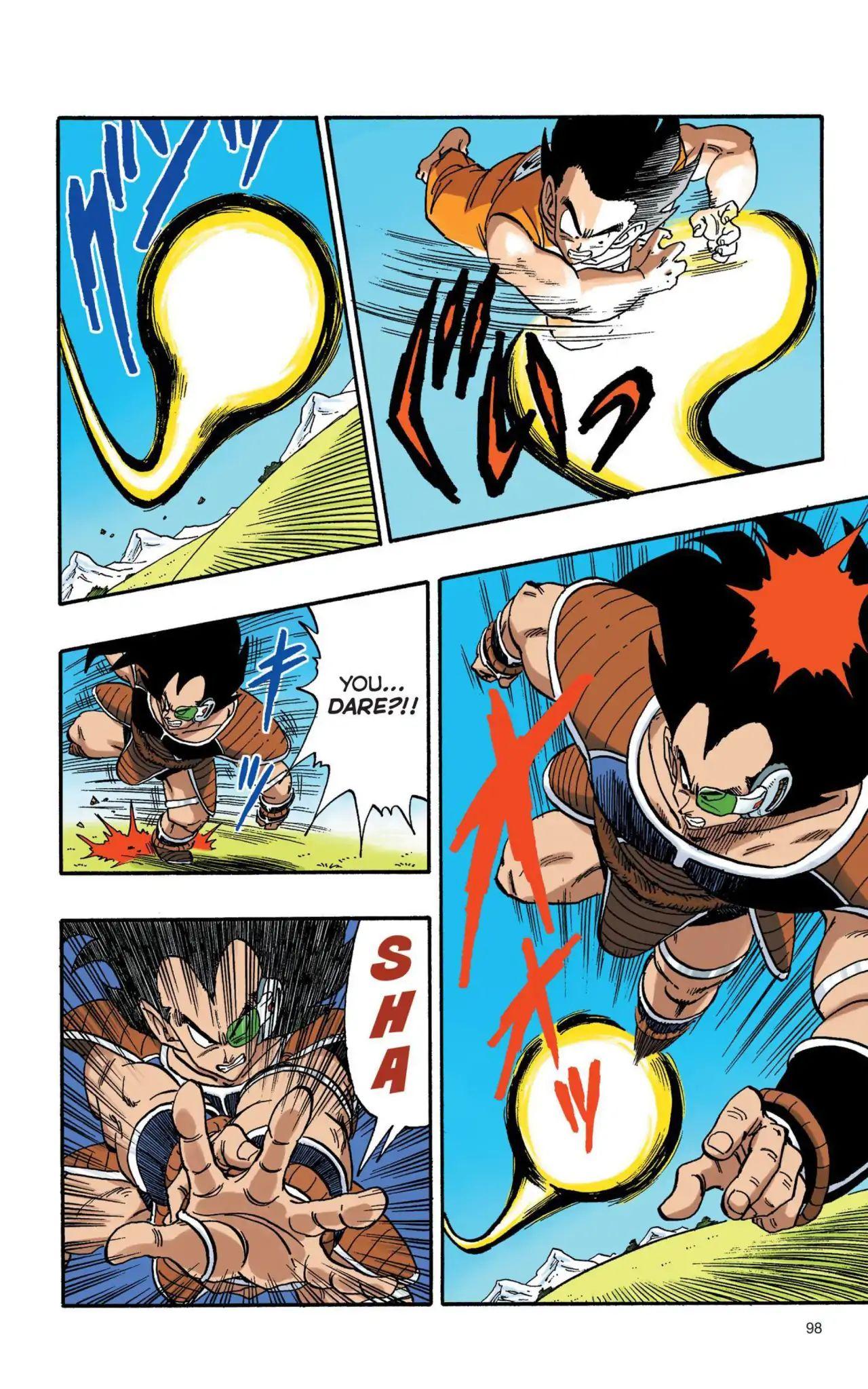 Dragon Ball Full Color Saiyan Arc Chapter 7  Online Free Manga Read Image 9