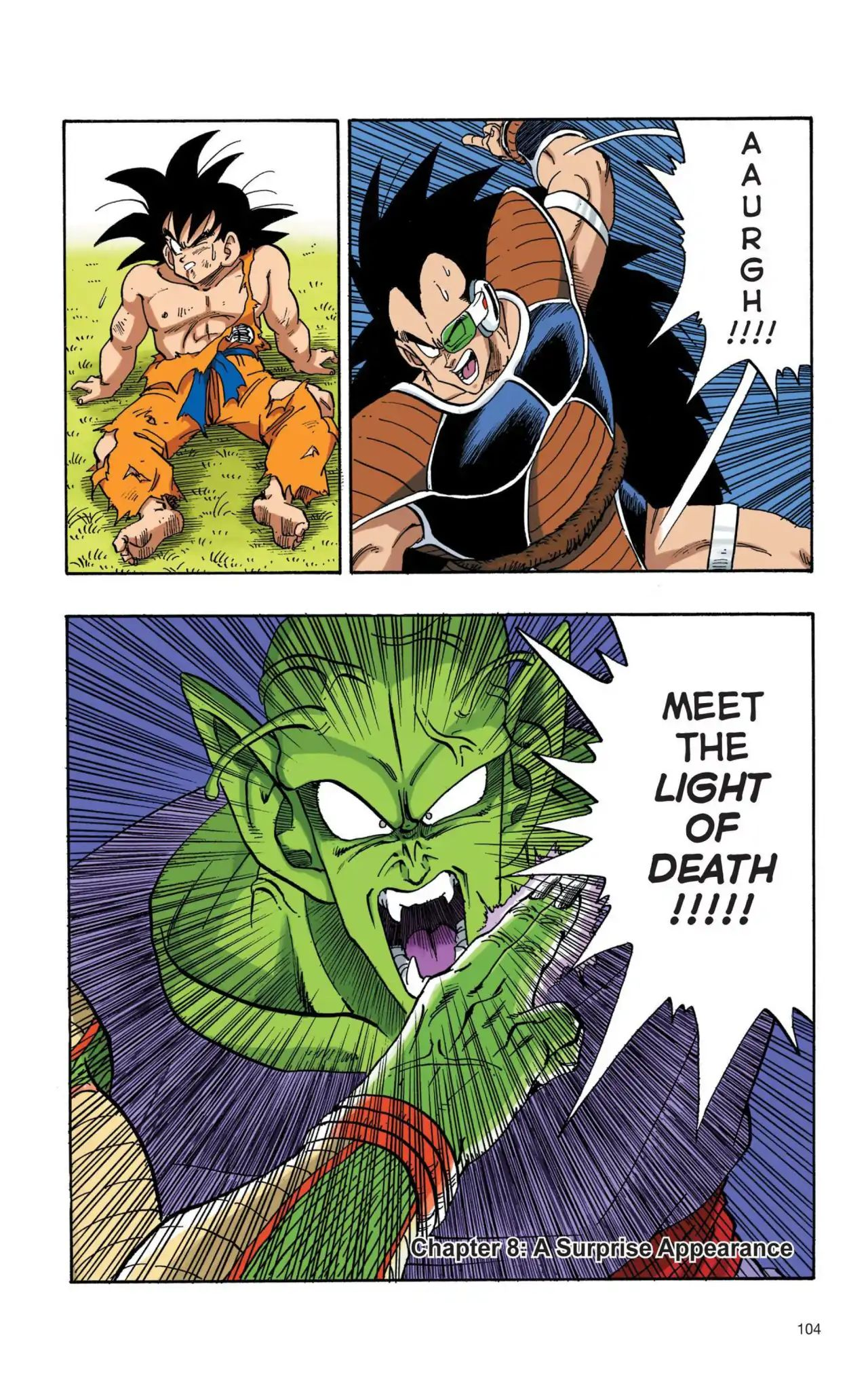 Dragon Ball Full Color Saiyan Arc Chapter 8  Online Free Manga Read Image 1