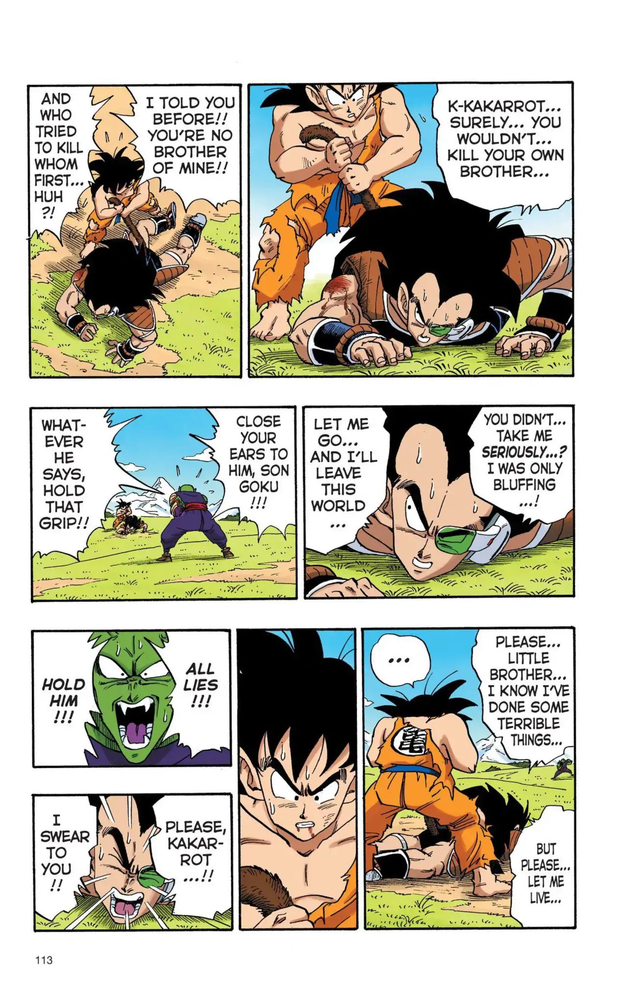 Dragon Ball Full Color Saiyan Arc Chapter 8  Online Free Manga Read Image 10
