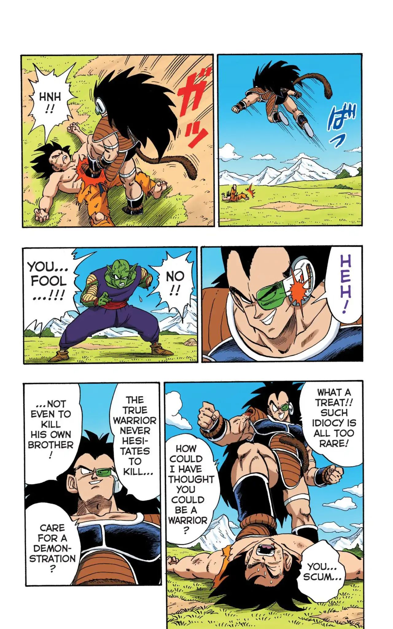 Dragon Ball Full Color Saiyan Arc Chapter 8  Online Free Manga Read Image 12