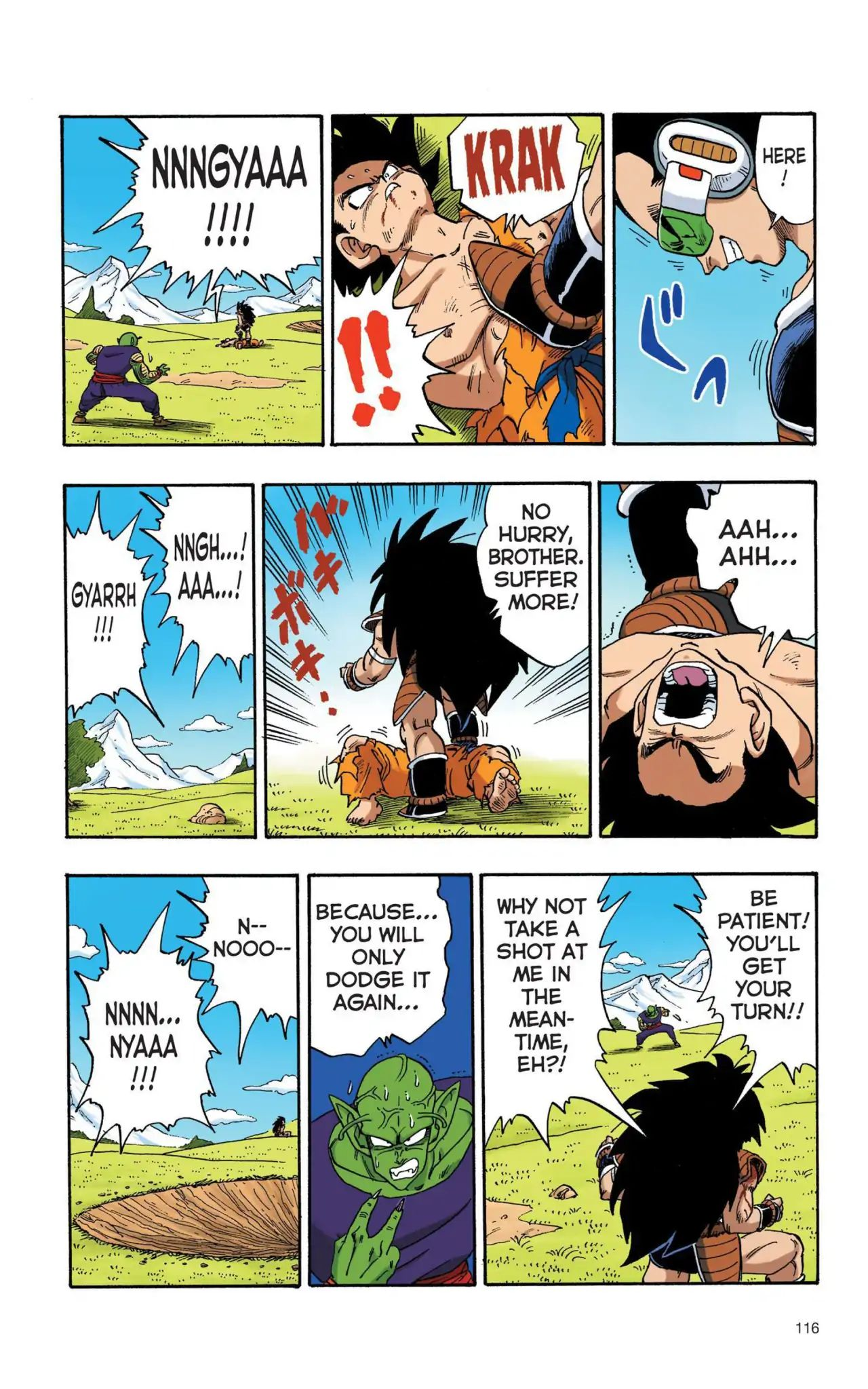 Dragon Ball Full Color Saiyan Arc Chapter 8  Online Free Manga Read Image 13