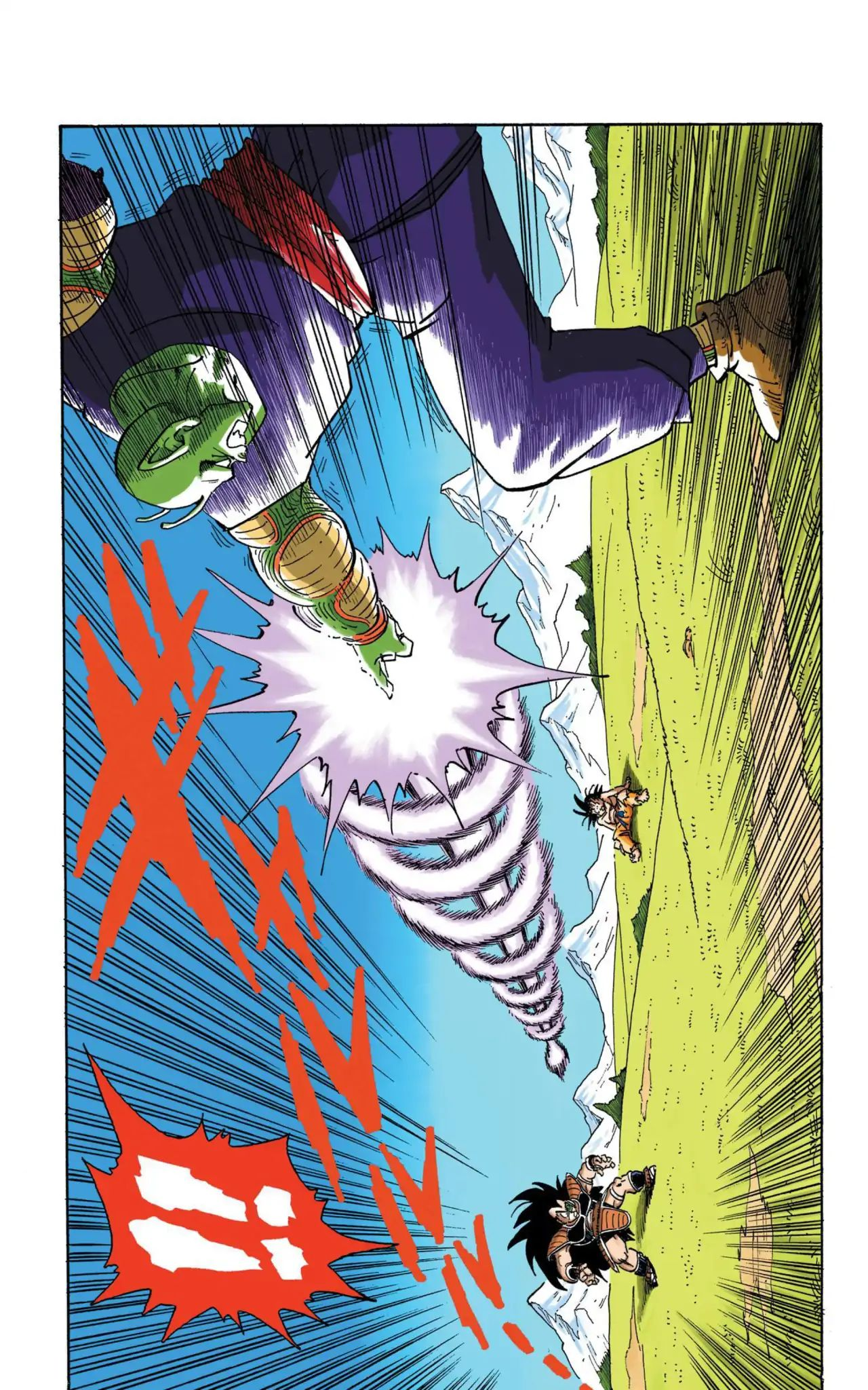 Dragon Ball Full Color Saiyan Arc Chapter 8  Online Free Manga Read Image 3