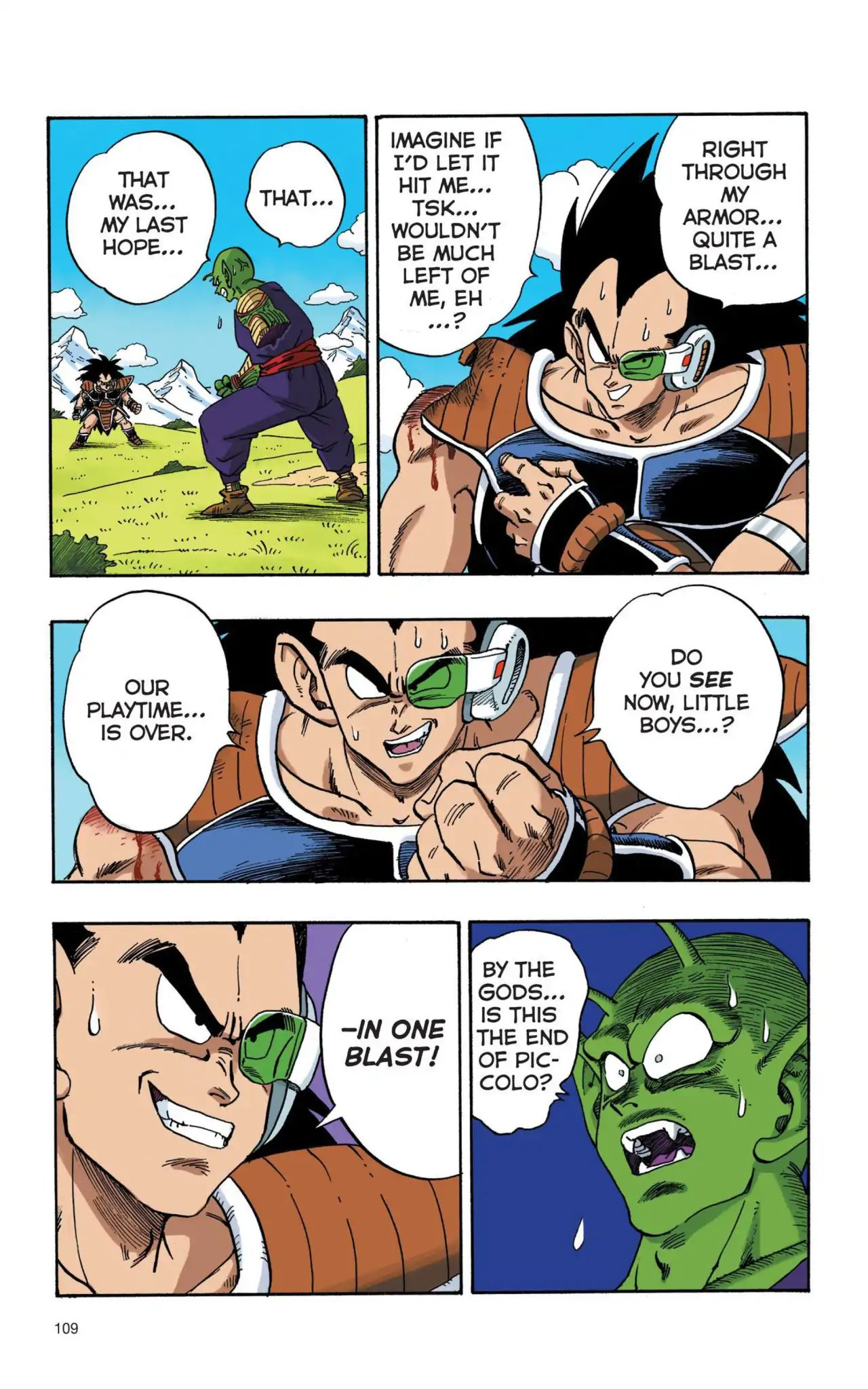 Dragon Ball Full Color Saiyan Arc Chapter 8  Online Free Manga Read Image 6