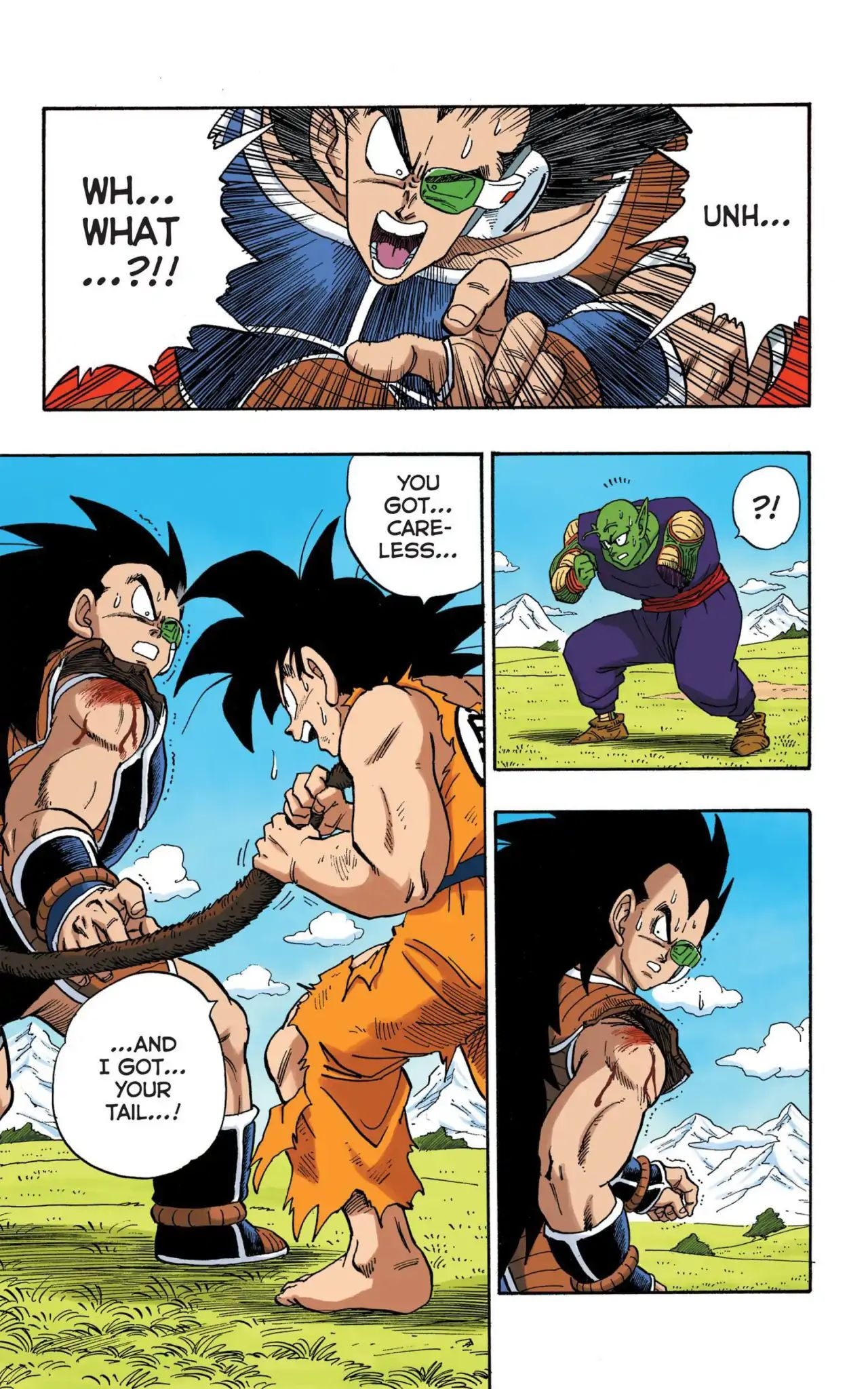 Dragon Ball Full Color Saiyan Arc Chapter 8  Online Free Manga Read Image 8