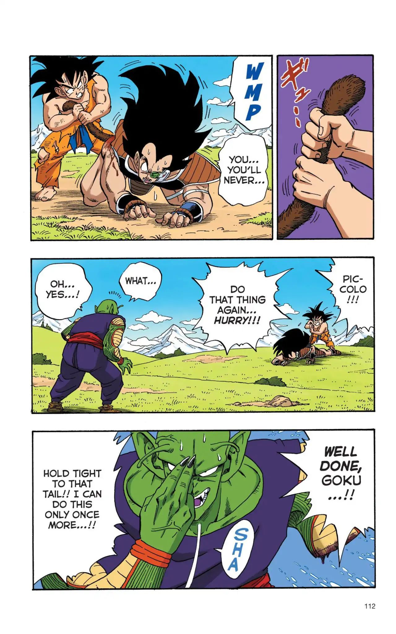 Dragon Ball Full Color Saiyan Arc Chapter 8  Online Free Manga Read Image 9