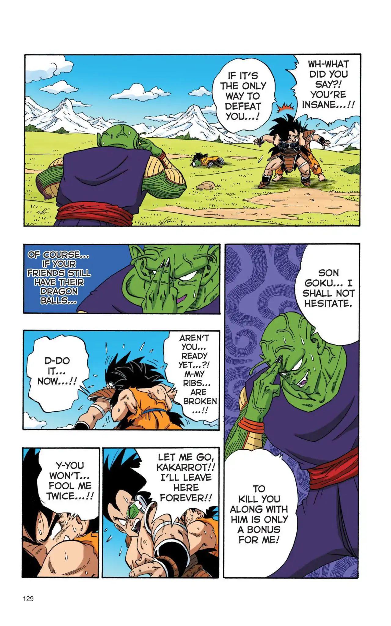 Dragon Ball Full Color Saiyan Arc Chapter 9  Online Free Manga Read Image 12