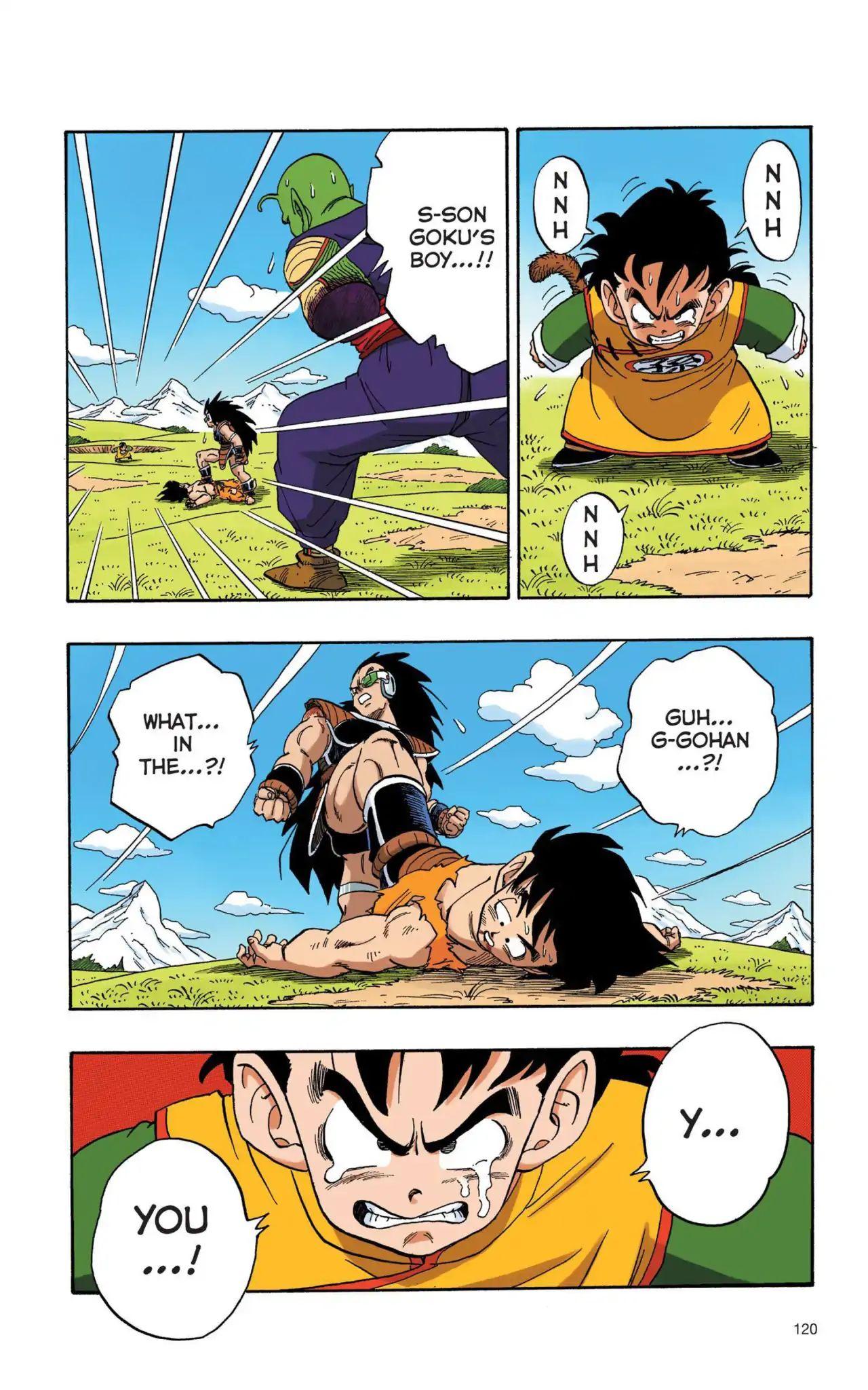Dragon Ball Full Color Saiyan Arc Chapter 9  Online Free Manga Read Image 3
