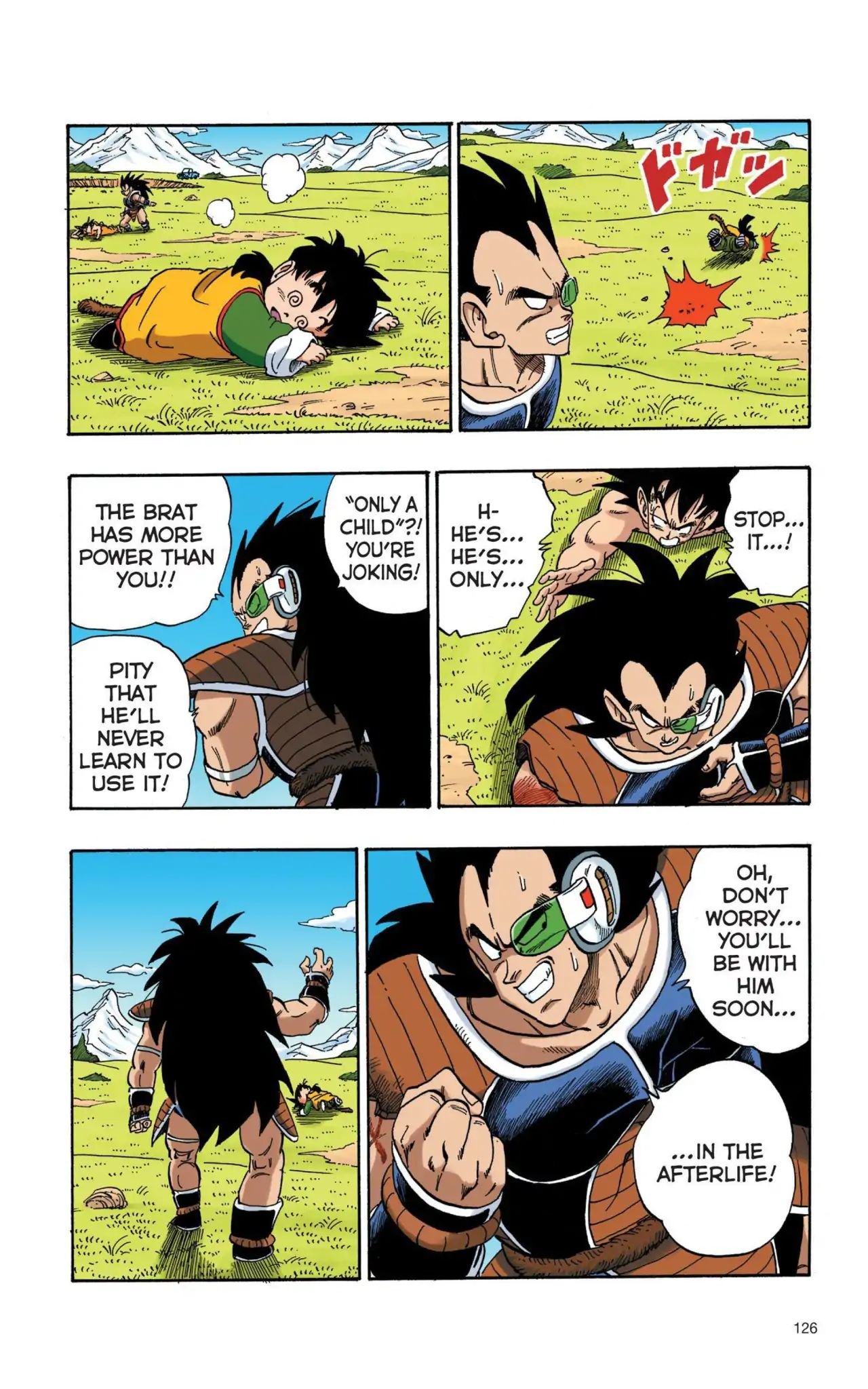 Dragon Ball Full Color Saiyan Arc Chapter 9  Online Free Manga Read Image 9