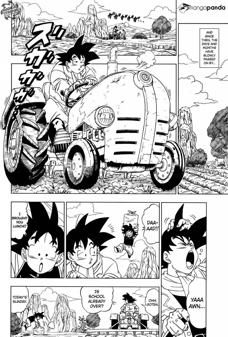 Dragon Ball Super Chapter 1  Online Free Manga Read Image 3