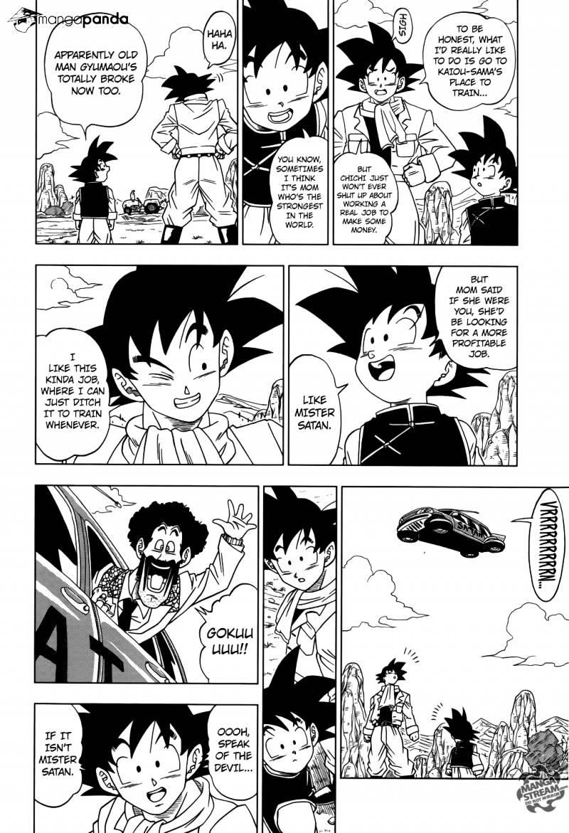 Dragon Ball Super Chapter 1  Online Free Manga Read Image 9