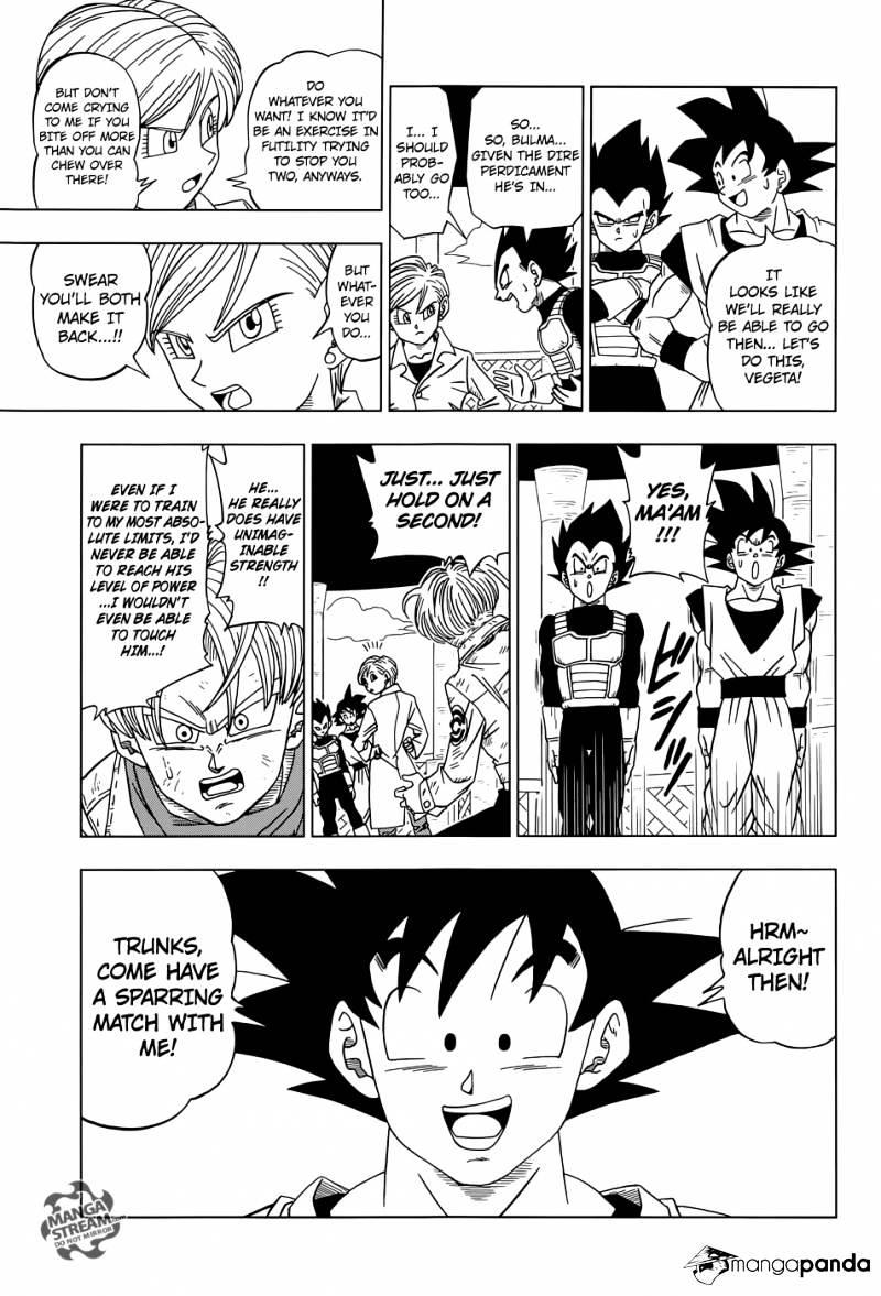 Dragon Ball Super Chapter 15  Online Free Manga Read Image 29
