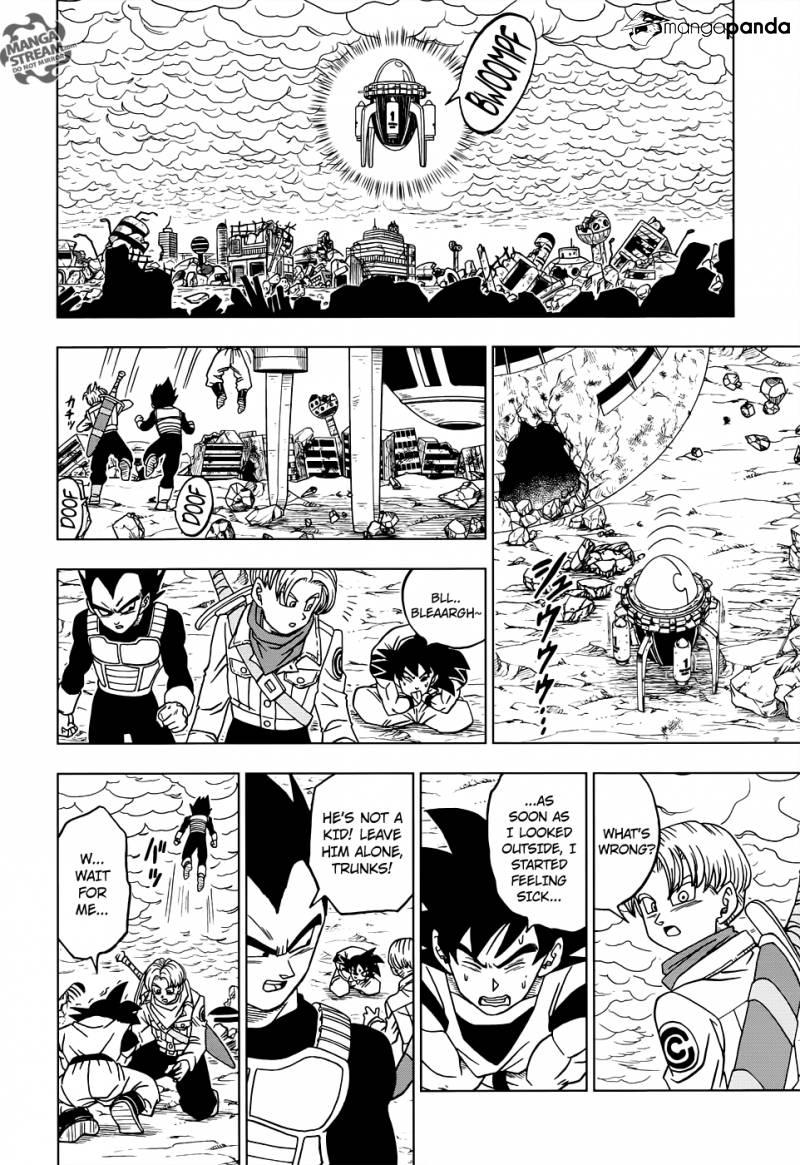 Dragon Ball Super Chapter 18  Online Free Manga Read Image 30