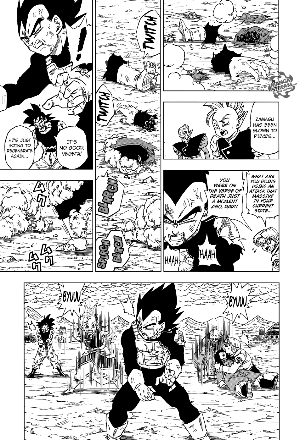 Dragon Ball Super Chapter 25  Online Free Manga Read Image 44