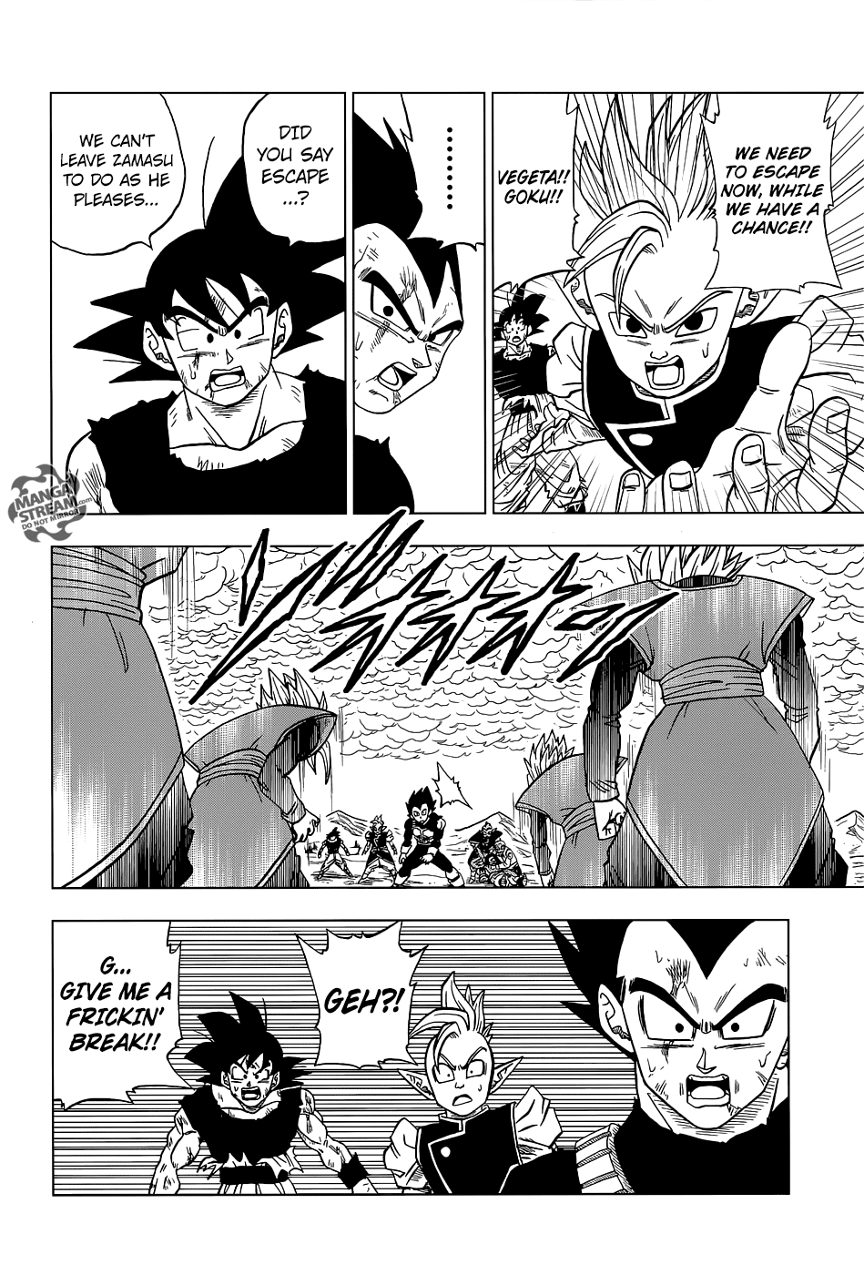 Dragon Ball Super Chapter 25  Online Free Manga Read Image 45
