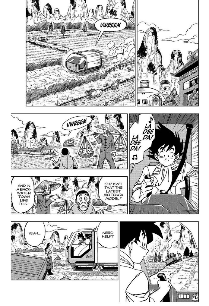 Dragon Ball Super Chapter 27  Online Free Manga Read Image 2