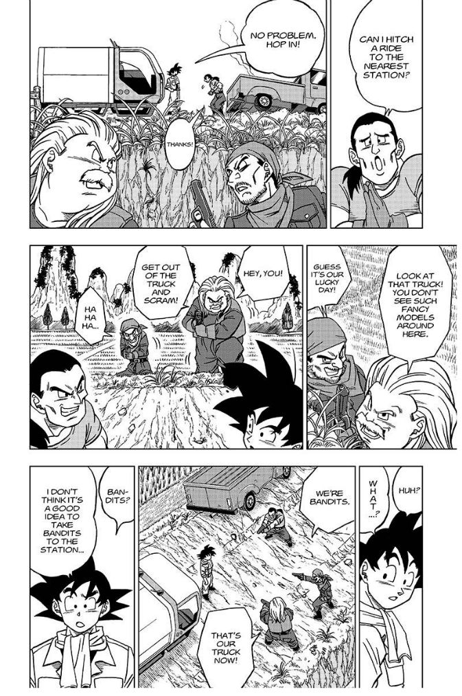 Dragon Ball Super Chapter 27  Online Free Manga Read Image 3