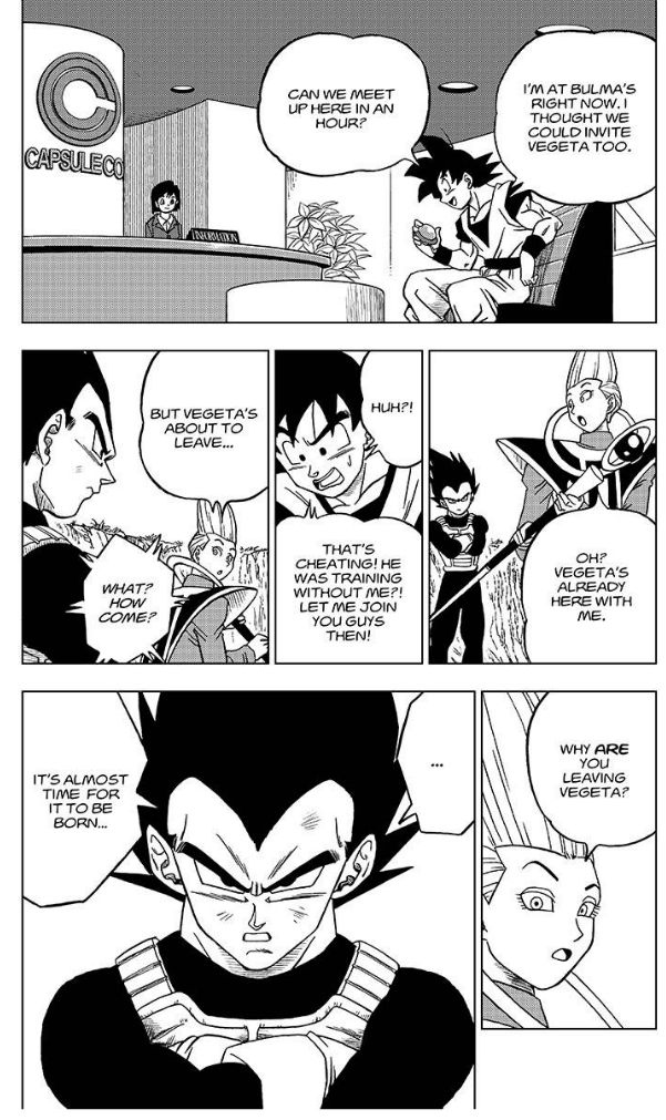 Dragon Ball Super Chapter 27  Online Free Manga Read Image 37