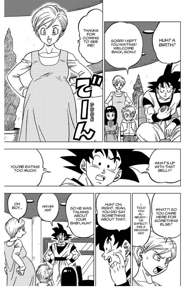 Dragon Ball Super Chapter 27  Online Free Manga Read Image 38