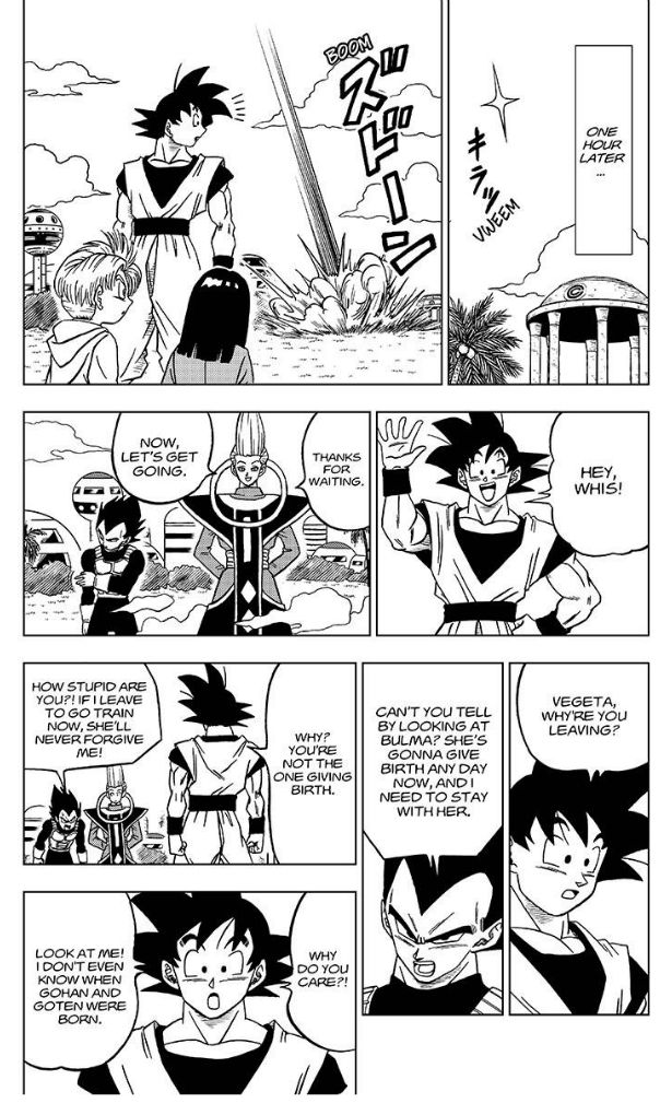 Dragon Ball Super Chapter 27  Online Free Manga Read Image 39