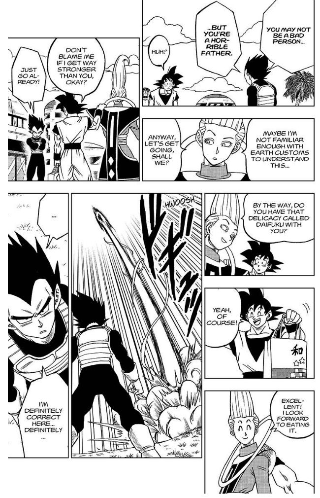Dragon Ball Super Chapter 27  Online Free Manga Read Image 40