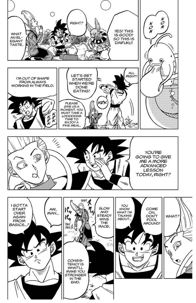 Dragon Ball Super Chapter 27  Online Free Manga Read Image 41