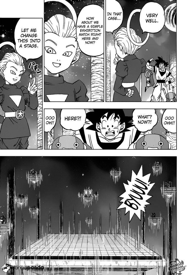 Dragon Ball Super Chapter 28  Online Free Manga Read Image 27