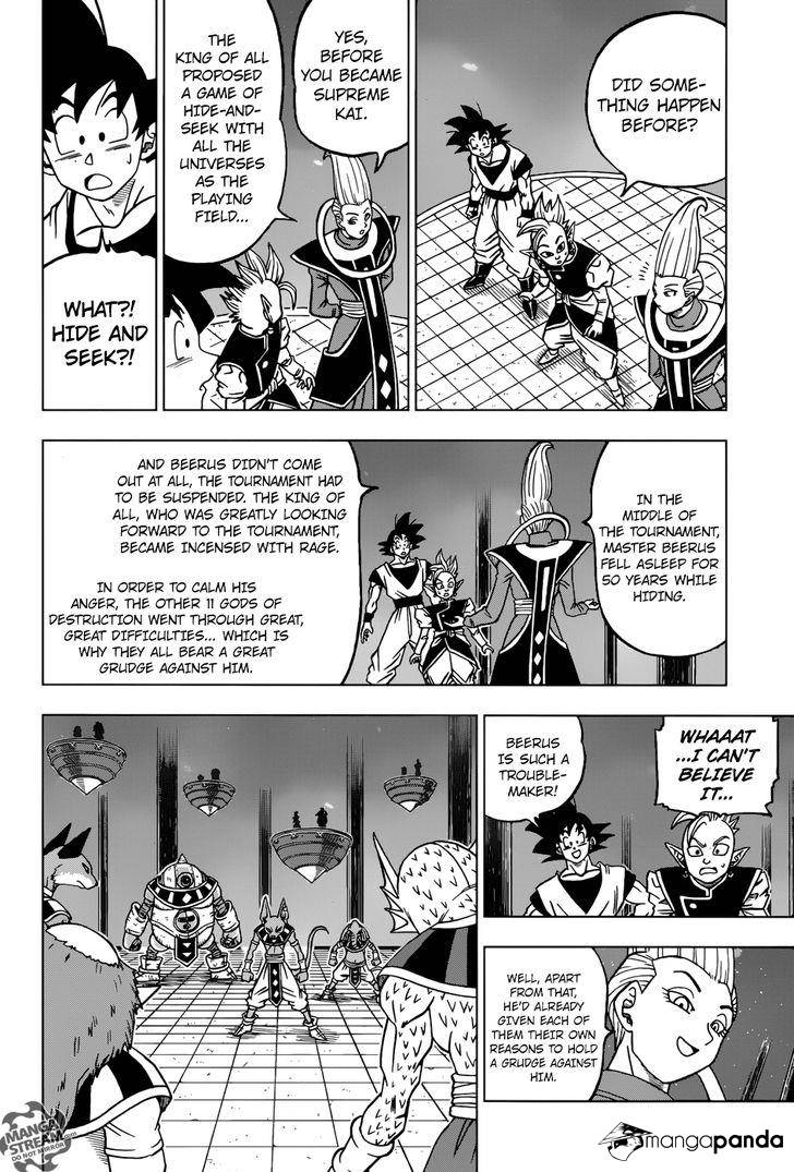 Dragon Ball Super Chapter 28  Online Free Manga Read Image 34